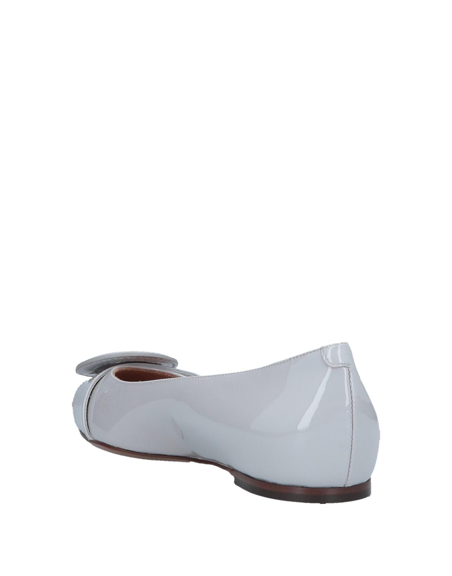 e671e52f4d3 Lyst - L Autre Chose Ballet Flats in Gray