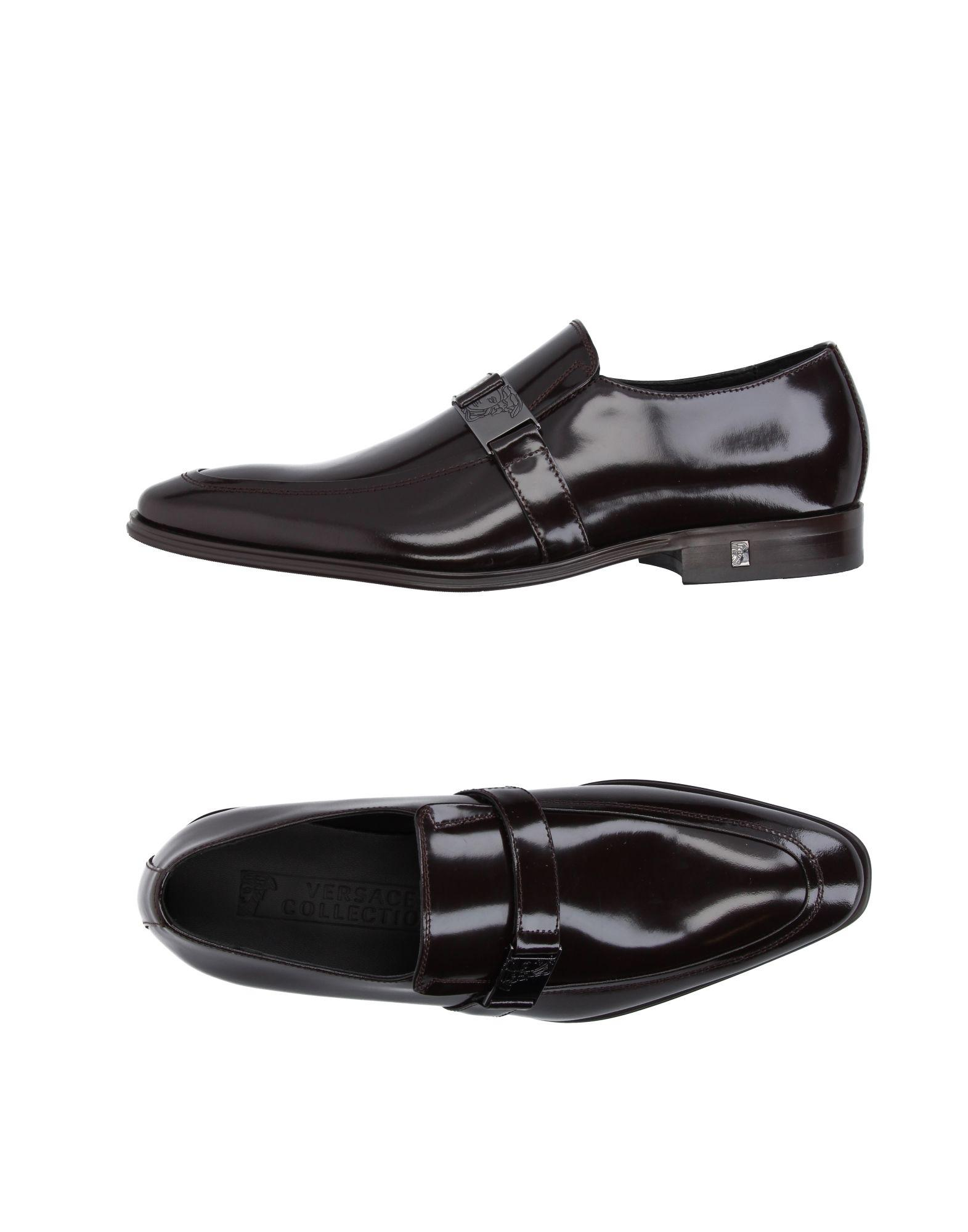 e570d3942d8 Versace Loafer in Brown for Men - Lyst