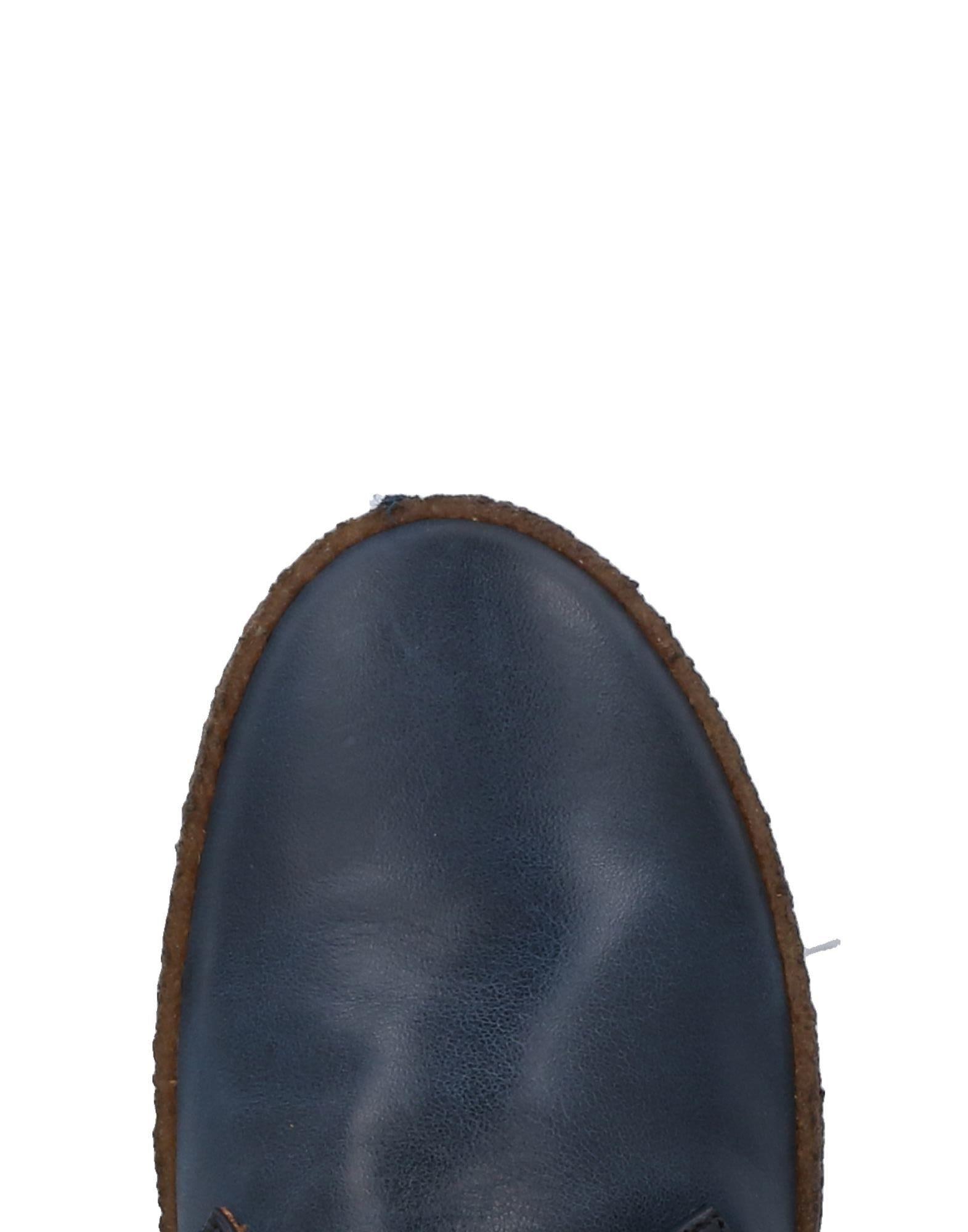 Chaussures à lacets Cuir Collection Privée en coloris Bleu