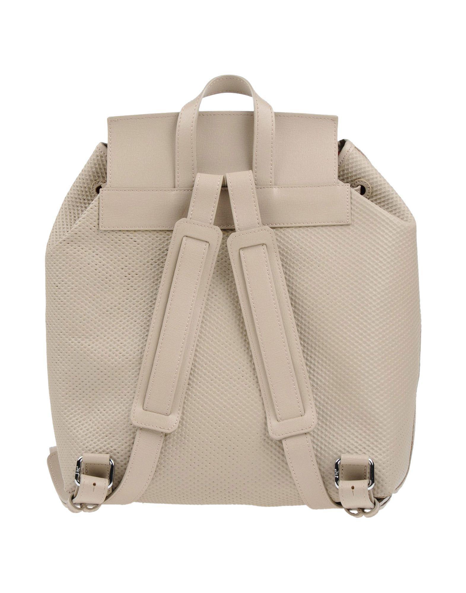 J&C JACKYCELINE Leather Backpacks & Fanny Packs in Light Grey (Grey)