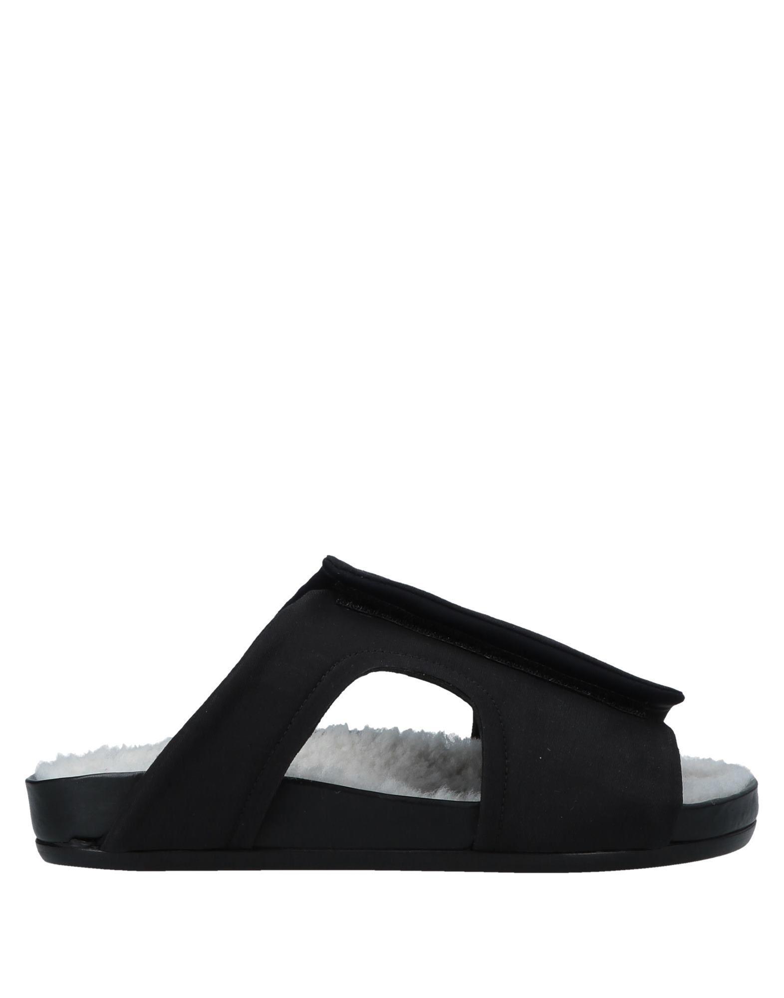 974e51d1a204b1 Lyst - Rick Owens Sandals in Black - Save 57%
