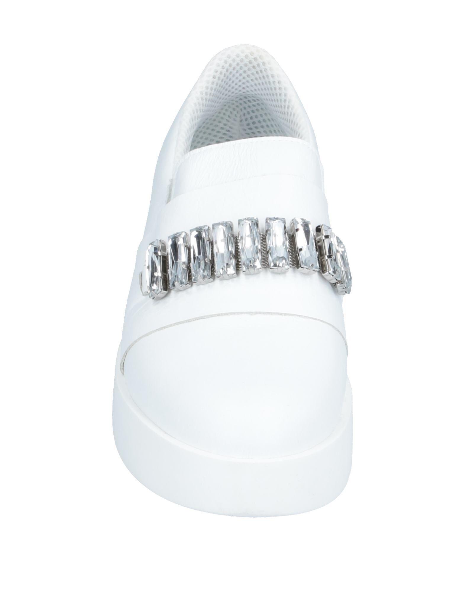 Annarita N. Leder Low Sneakers & Tennisschuhe in Weiß nunMB