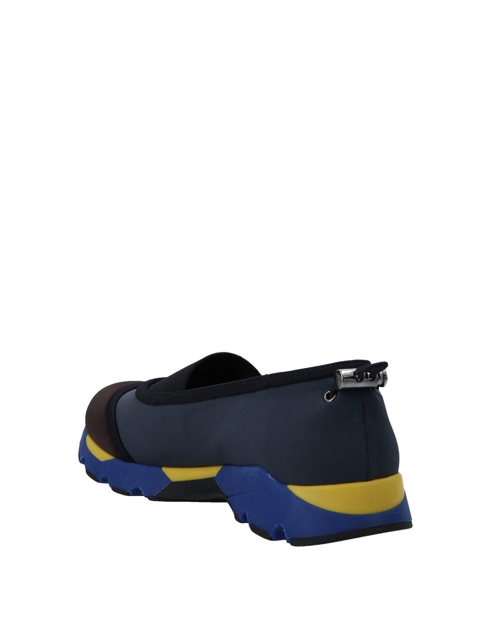 Marni Neoprene Low-tops & Sneakers in Dark Brown (Brown)