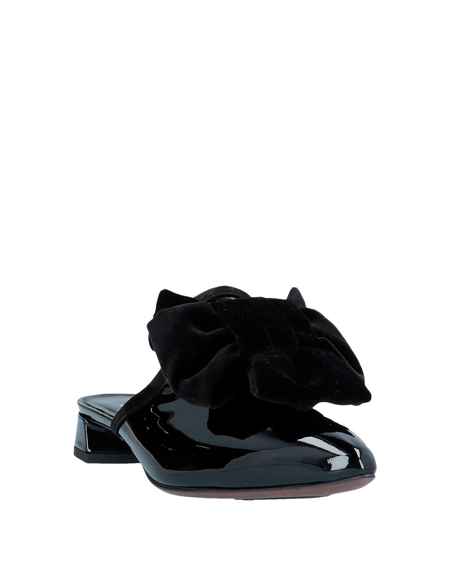 Mules & Zuecos Agl Attilio Giusti Leombruni de Terciopelo de color Negro