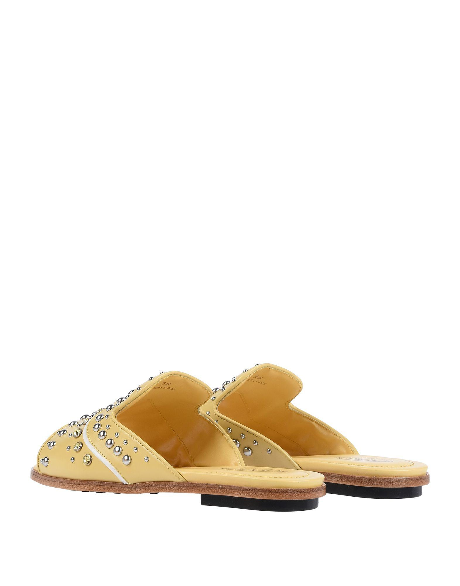 6465324a2a700d Lyst - Tod s Sandals in Yellow