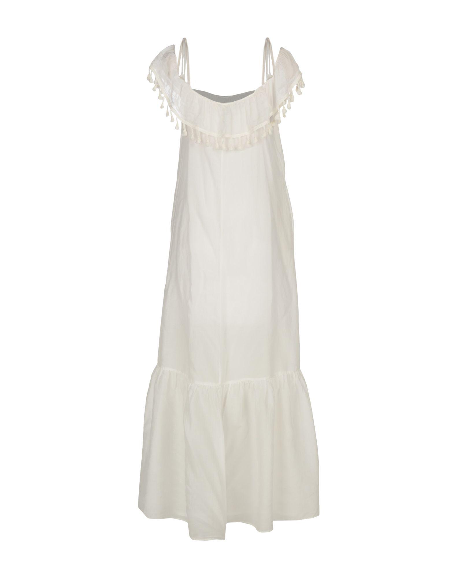 Suoli Long Dress in White