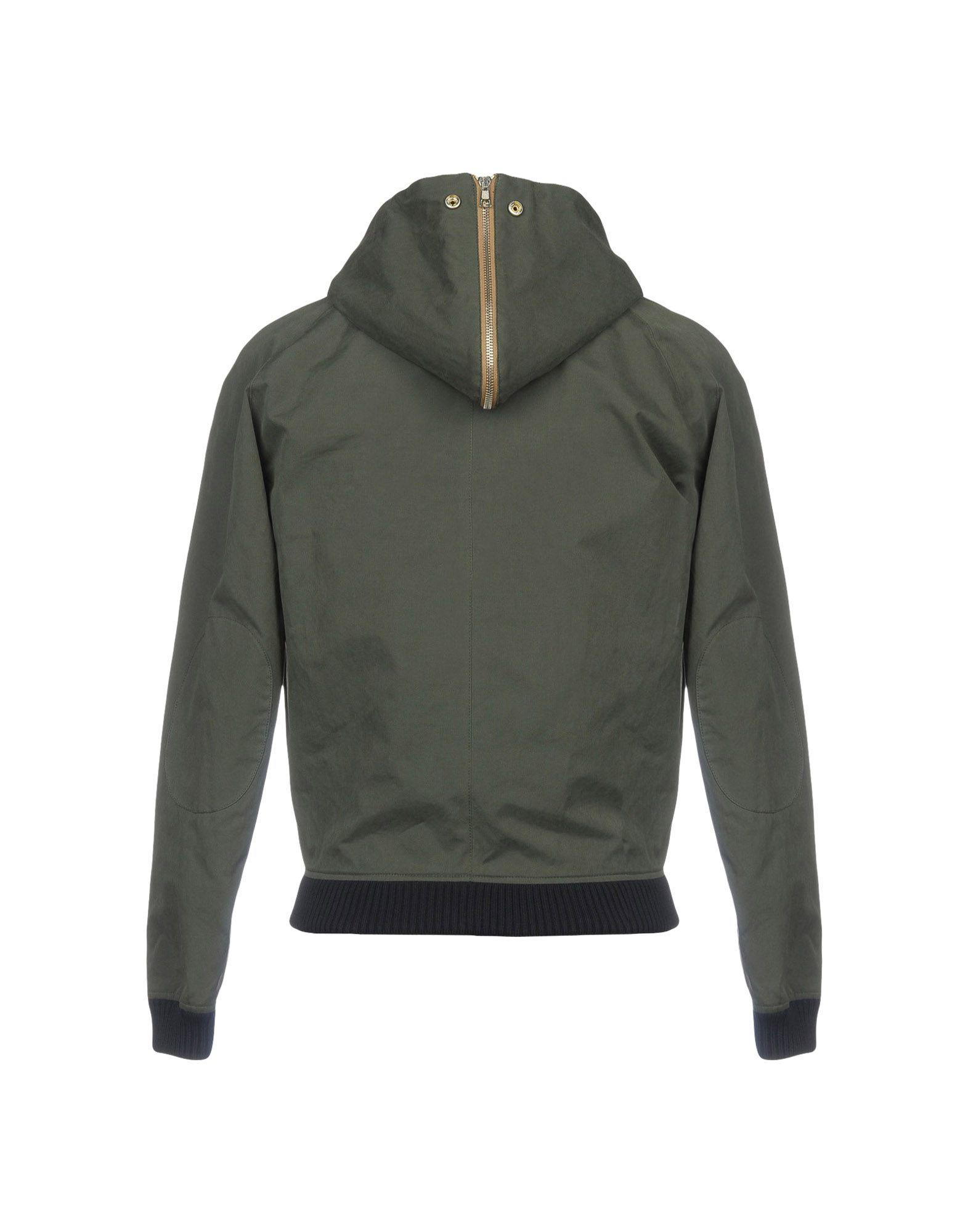 Band of Outsiders Cotton Jacket in Military Green (Green) for Men