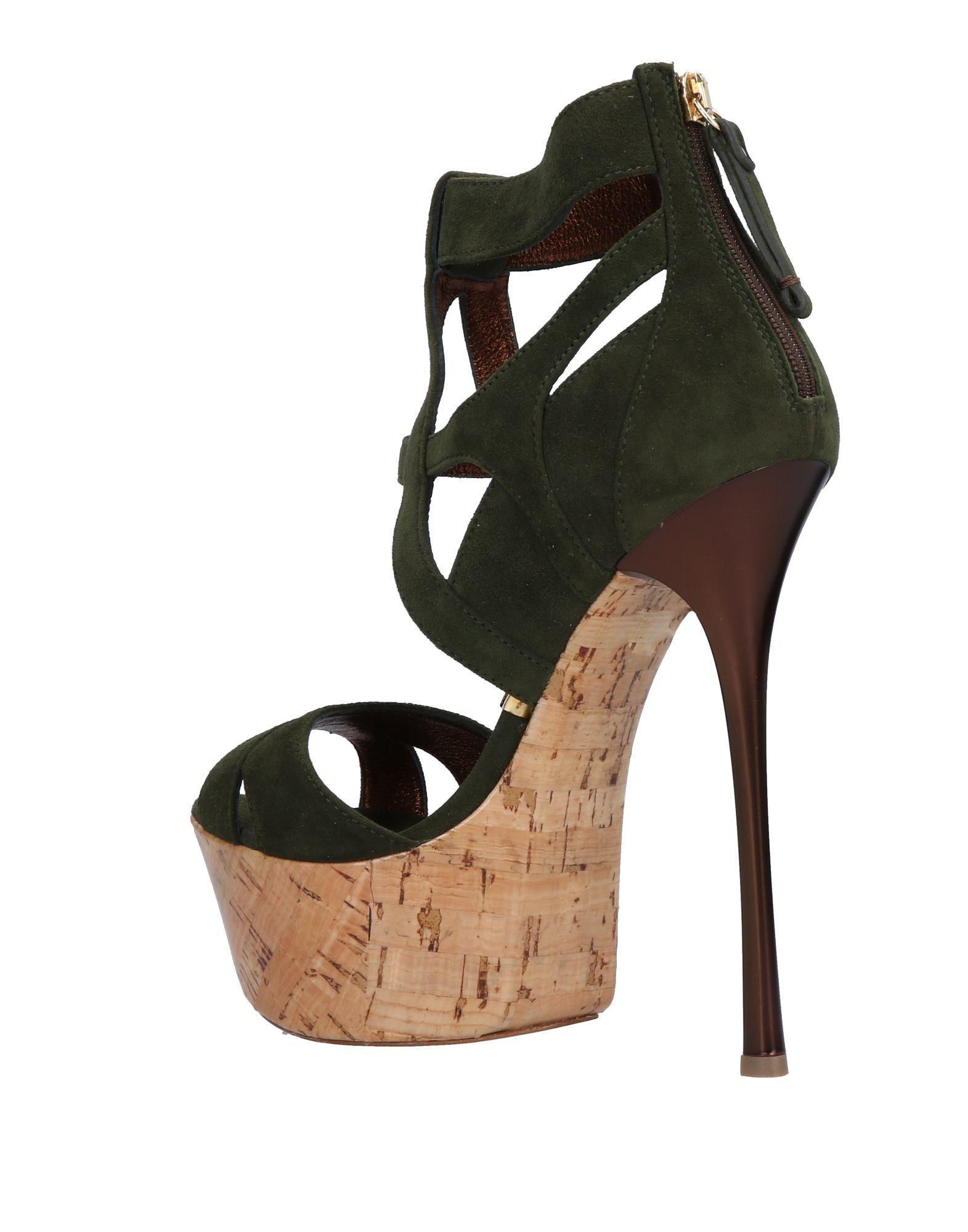 gianmarco lorenzi sandals in green lyst rh lyst co uk
