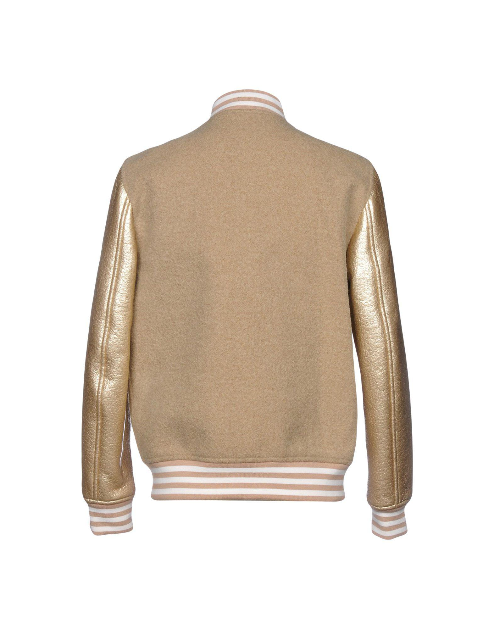 MSGM Wool Jacket in Beige (Natural) for Men