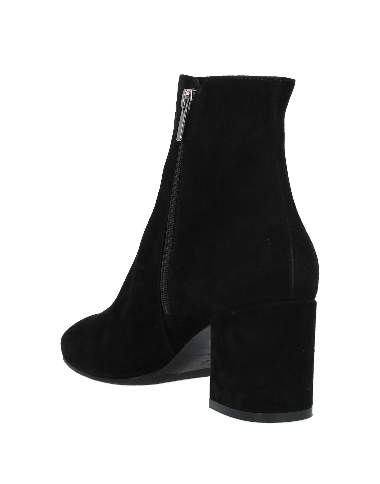 Botines de caña alta Le Silla de Ante de color Negro