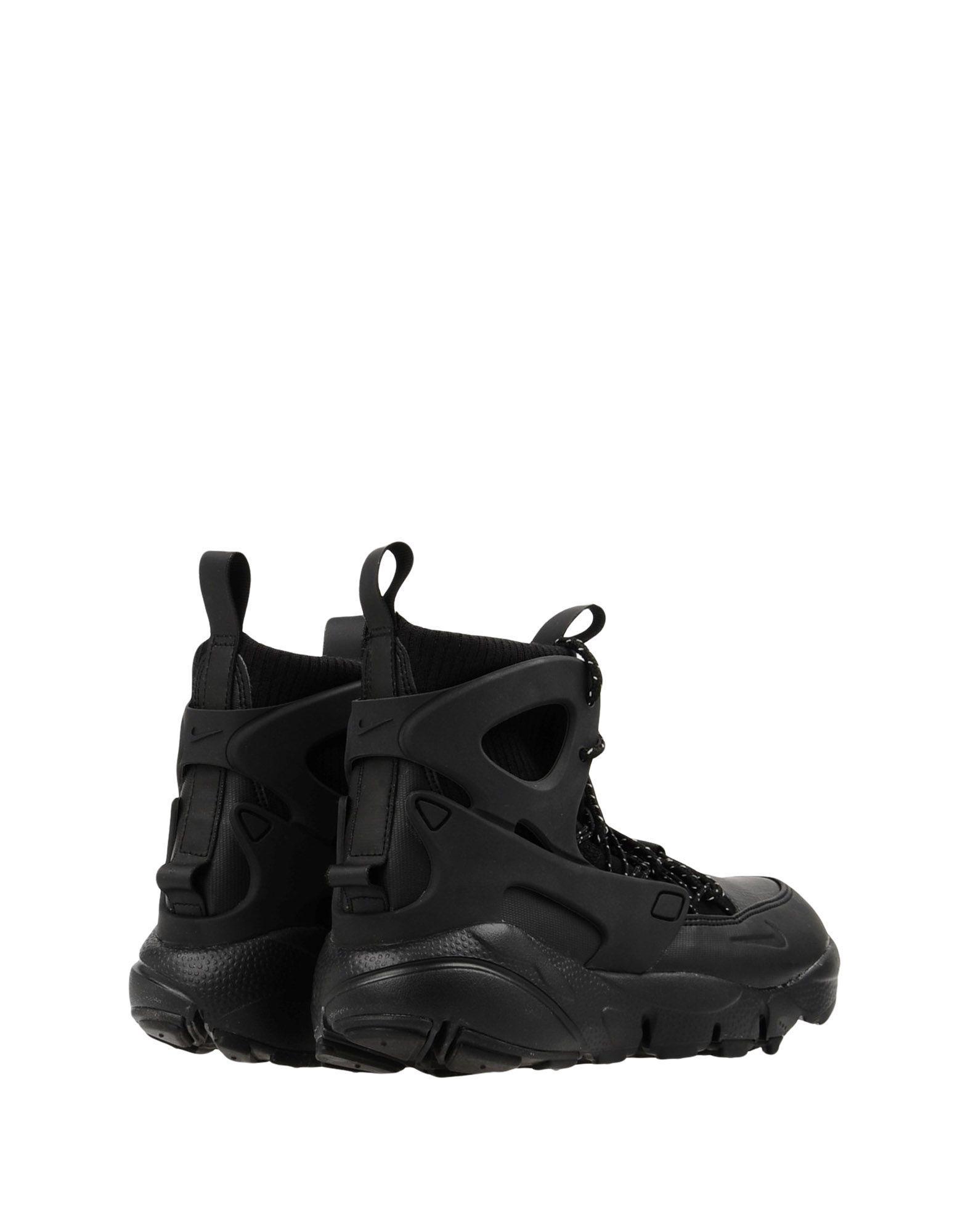 Sneakers & Tennis montantes Cuir Nike en coloris Noir dHZU