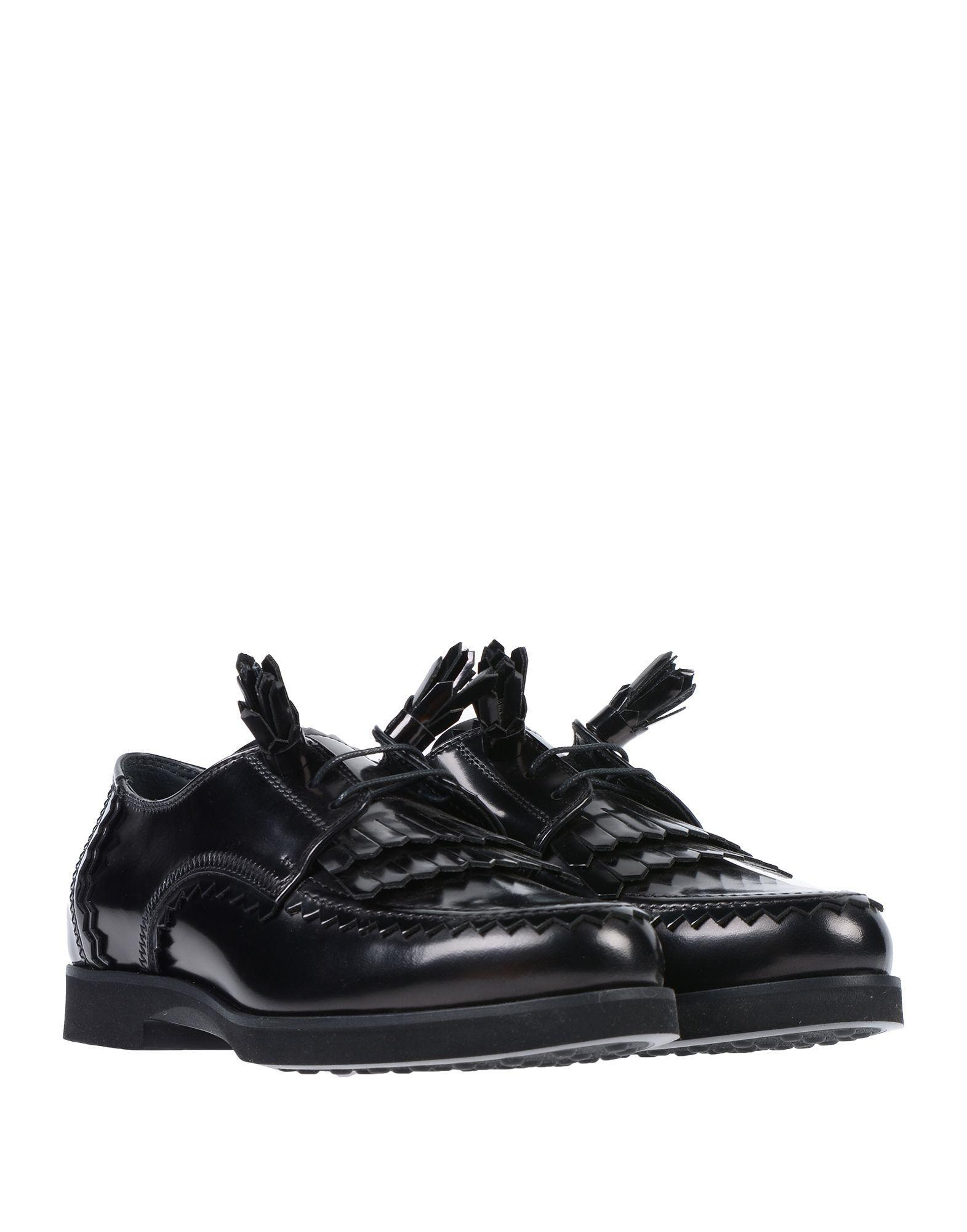 Zapatos de cordones Tod's de Cuero de color Negro