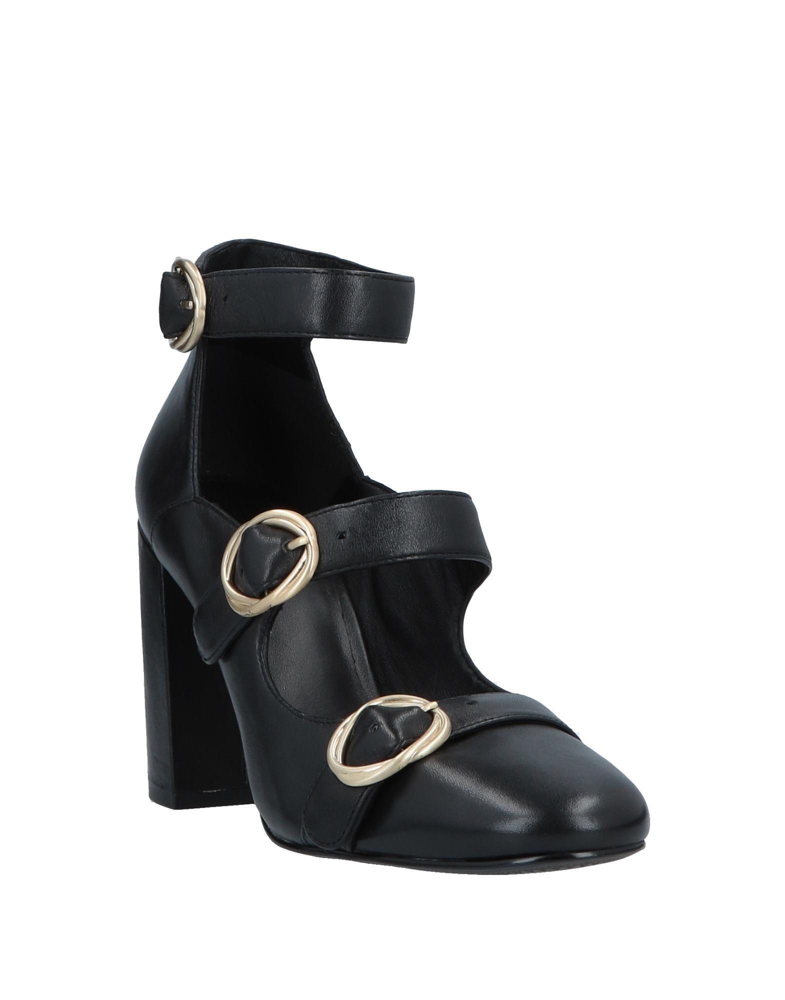 Zapatos de salón What For de Cuero de color Negro