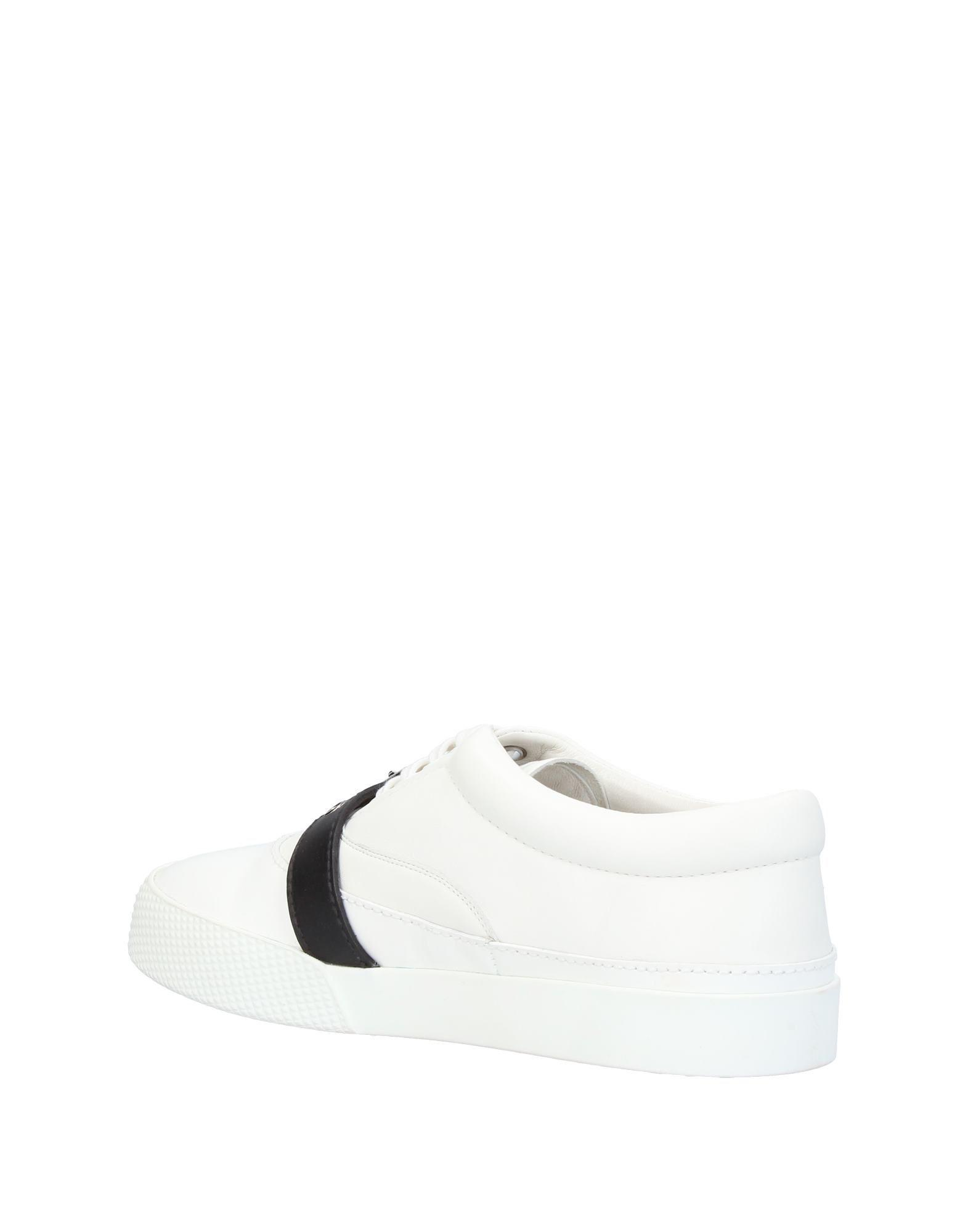 Miu Miu Leather Low-tops & Sneakers in White