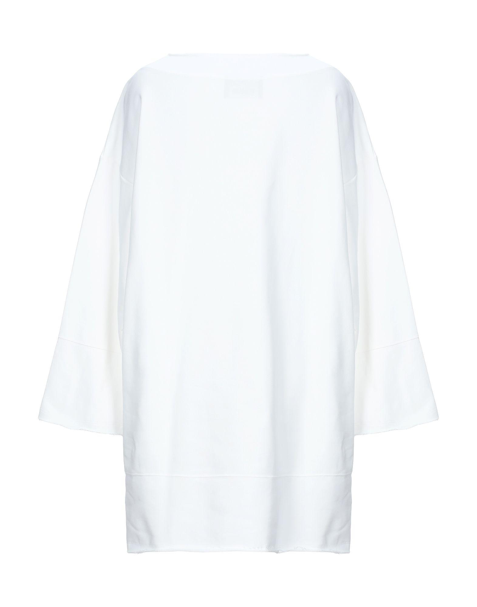 Sweat-shirt Coton Boutique Moschino en coloris Blanc