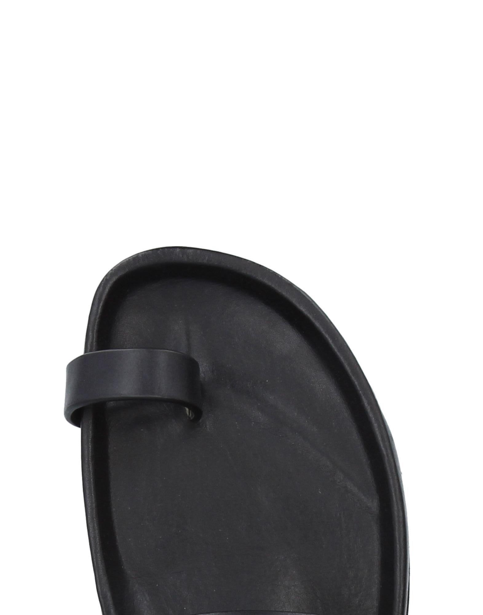 bb160c09d Rick Owens - Black Toe Strap Sandal for Men - Lyst. View fullscreen