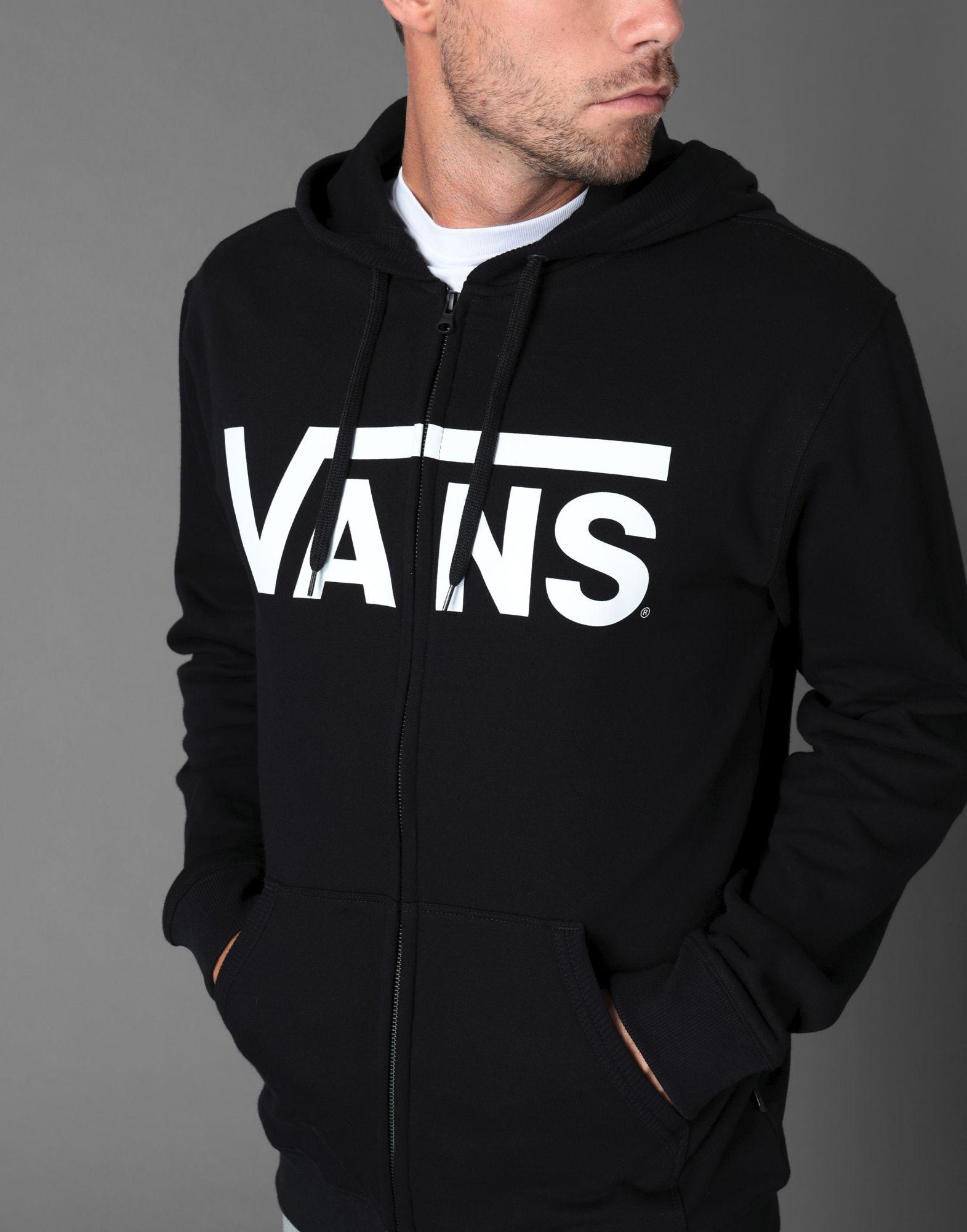 3216b877be Lyst - Vans Sweatshirt in Black for Men