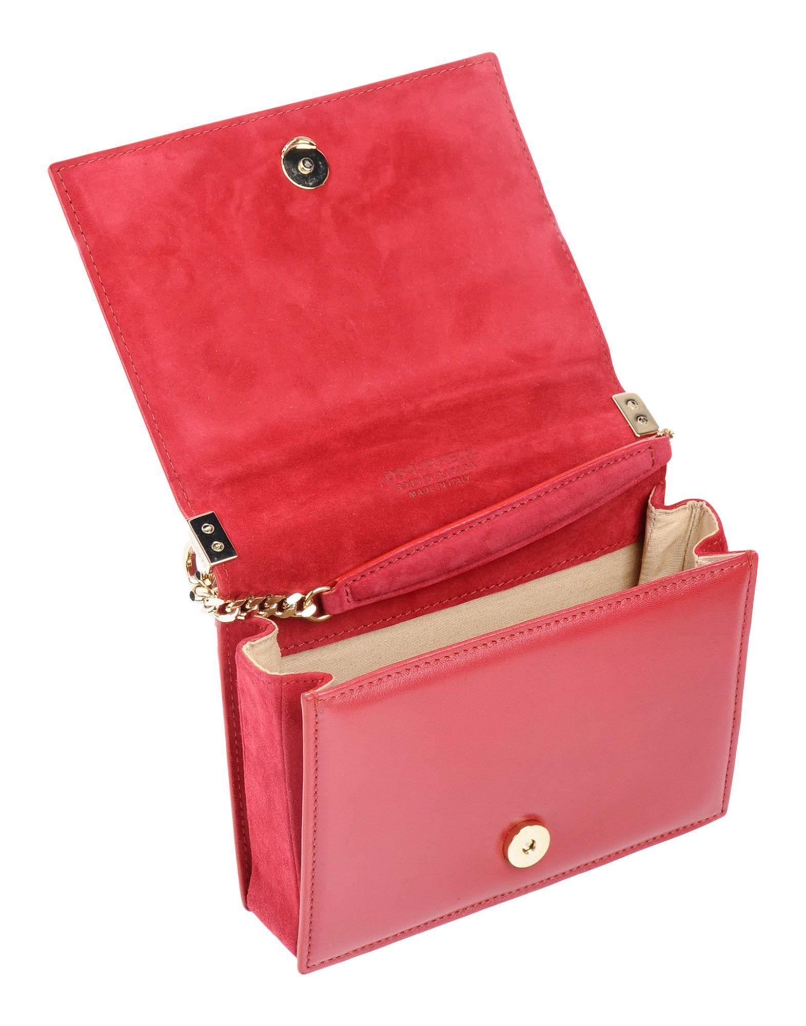 DSquared² Leather Cross-body Bag in Maroon (Red)