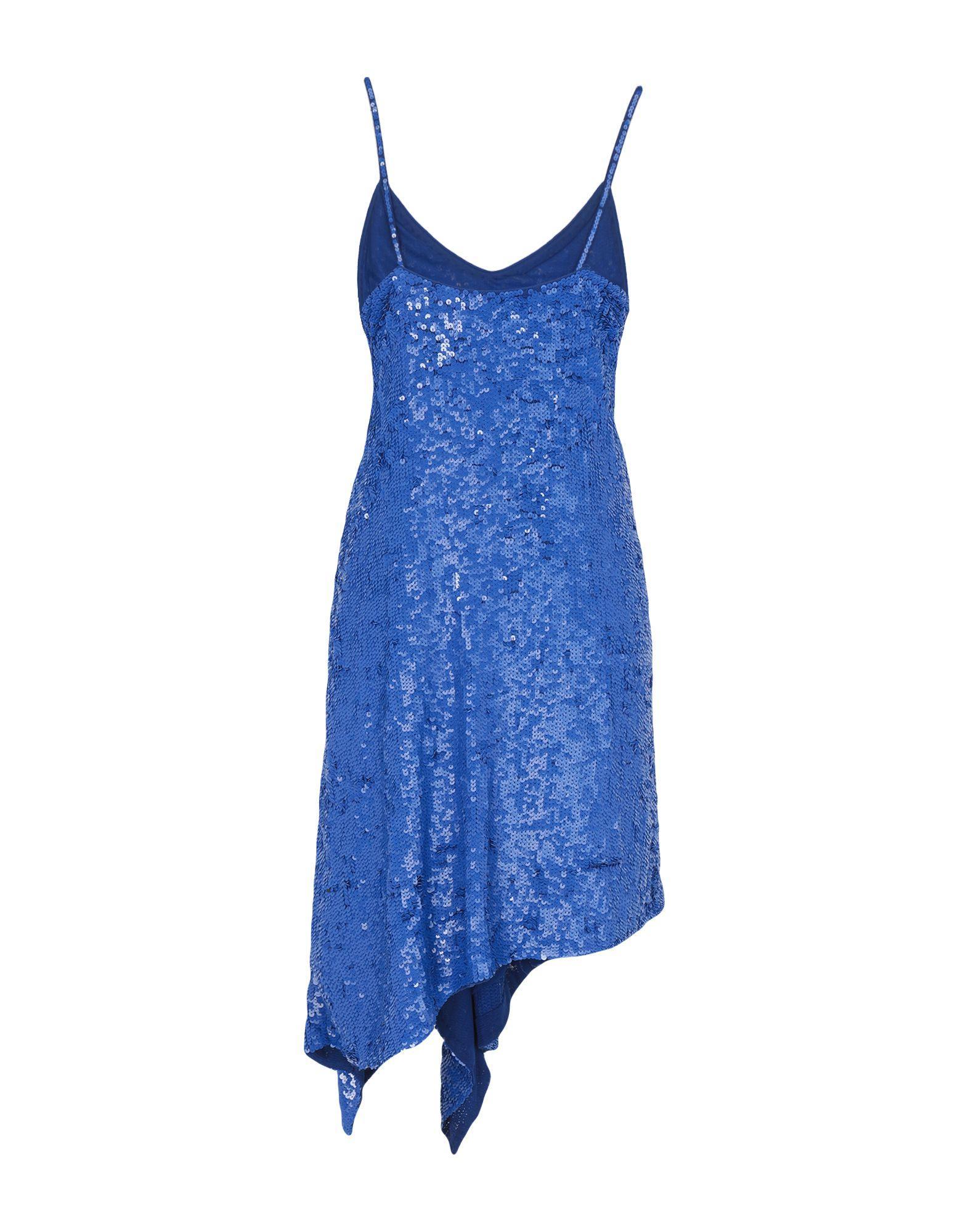 Robe courte Tulle P.A.R.O.S.H. en coloris Bleu