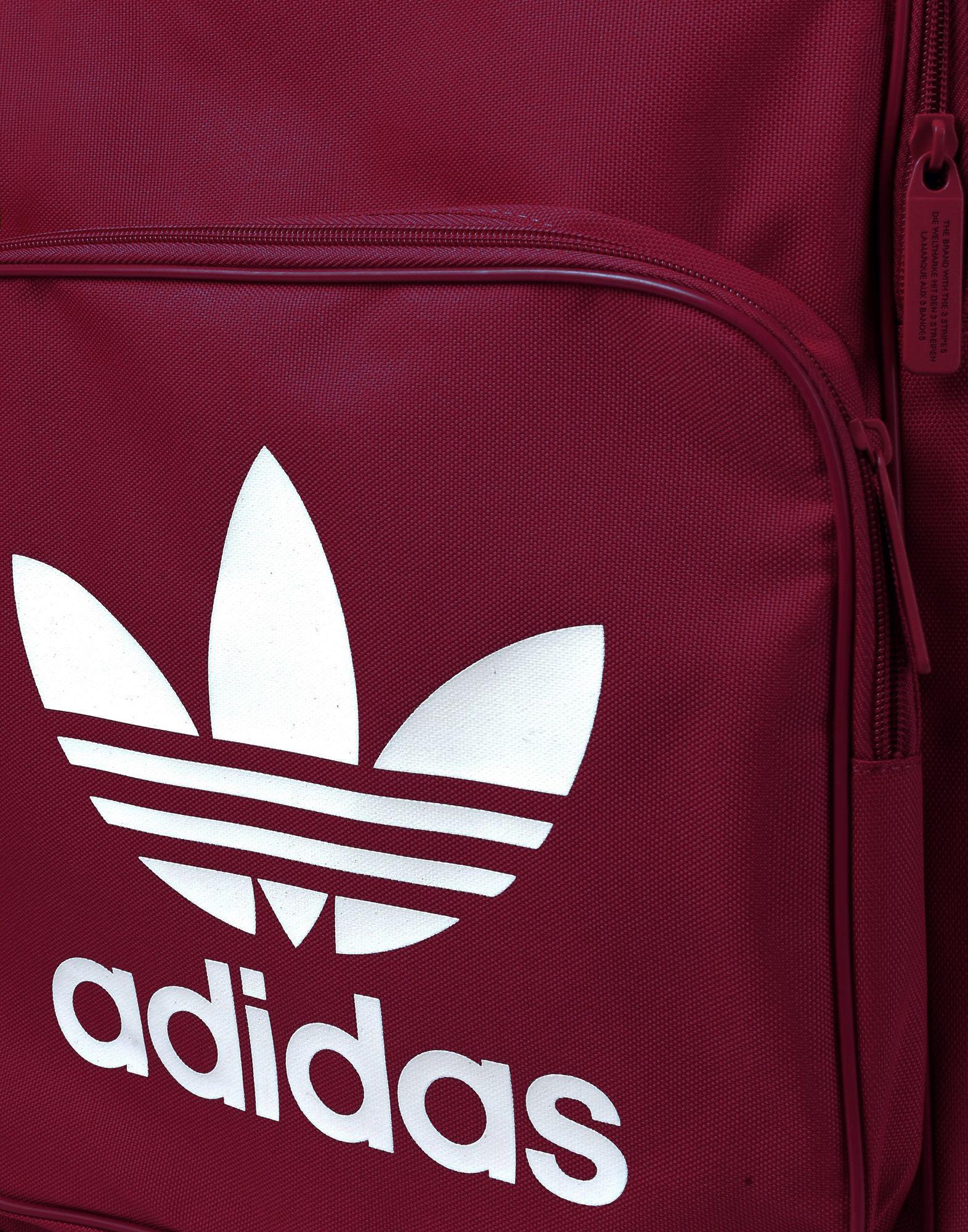 adidas Originals Canvas Backpacks & Bum Bags in Deep Purple (Purple)