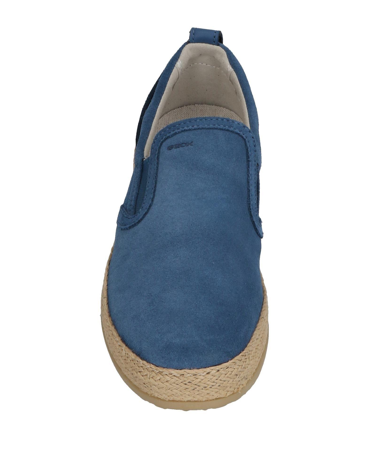 Geox Suede Low-tops & Sneakers in Dark Blue (Blue)