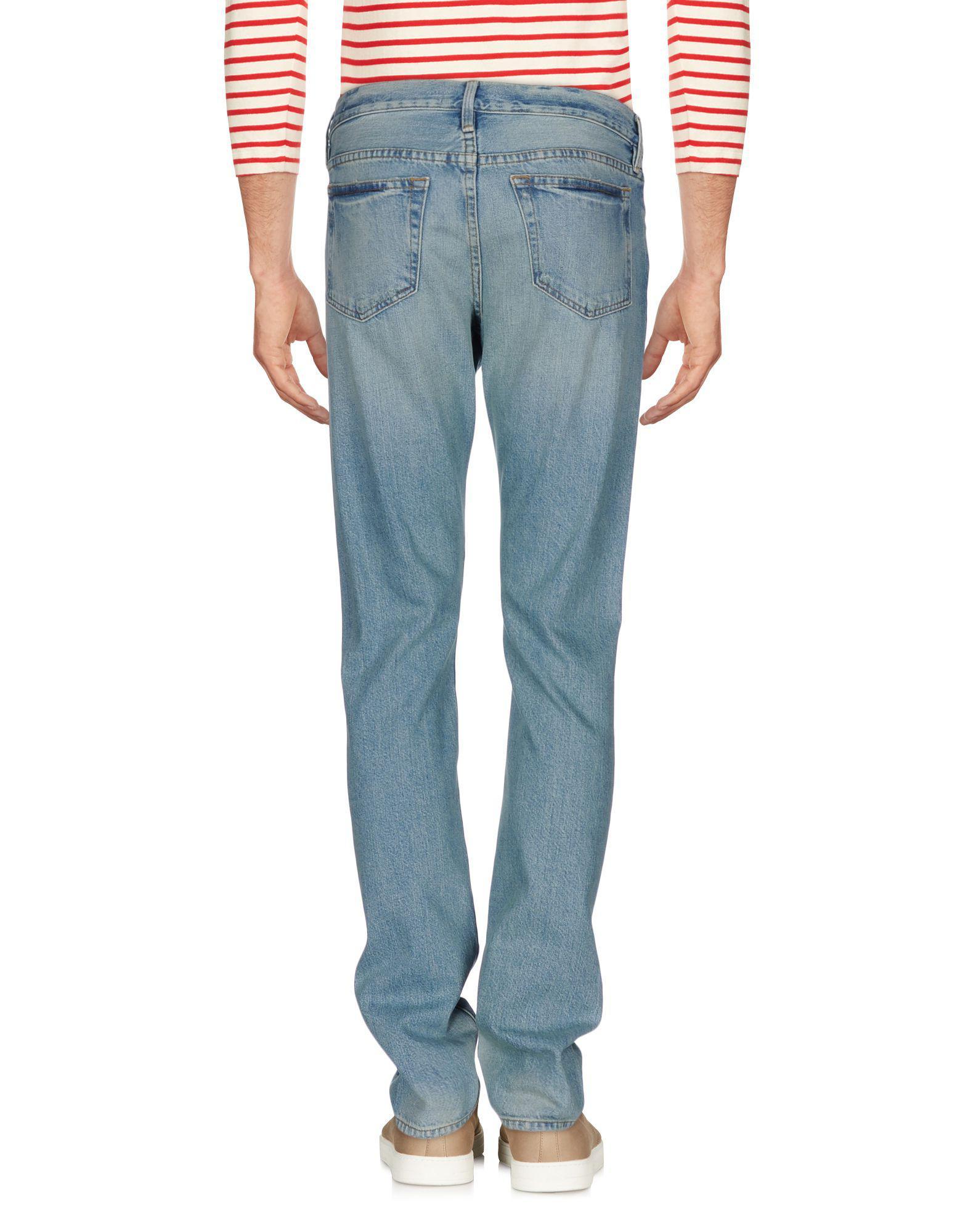 FRAME Denim Pants in Blue for Men