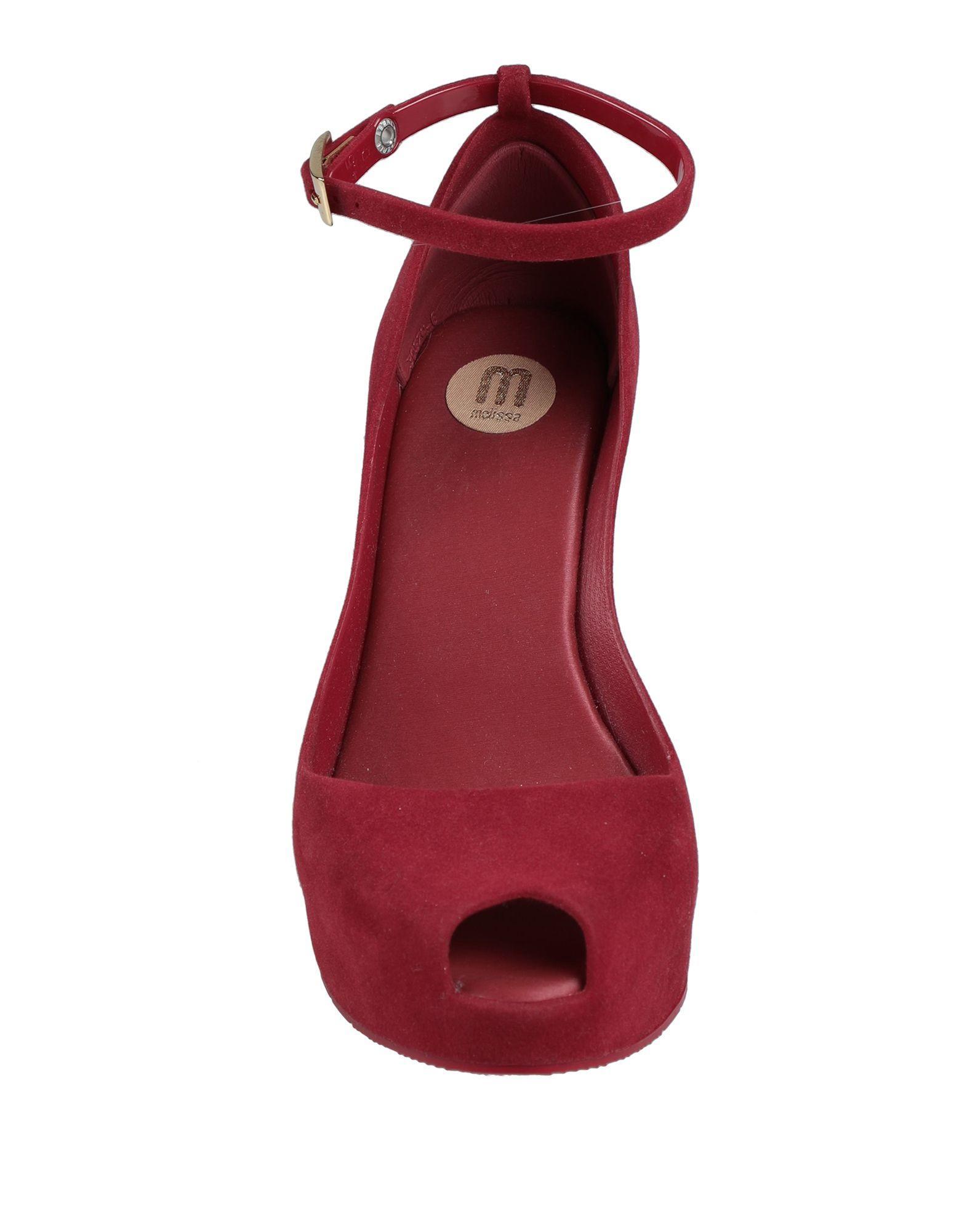 Zapatos de salón Melissa de color Rojo