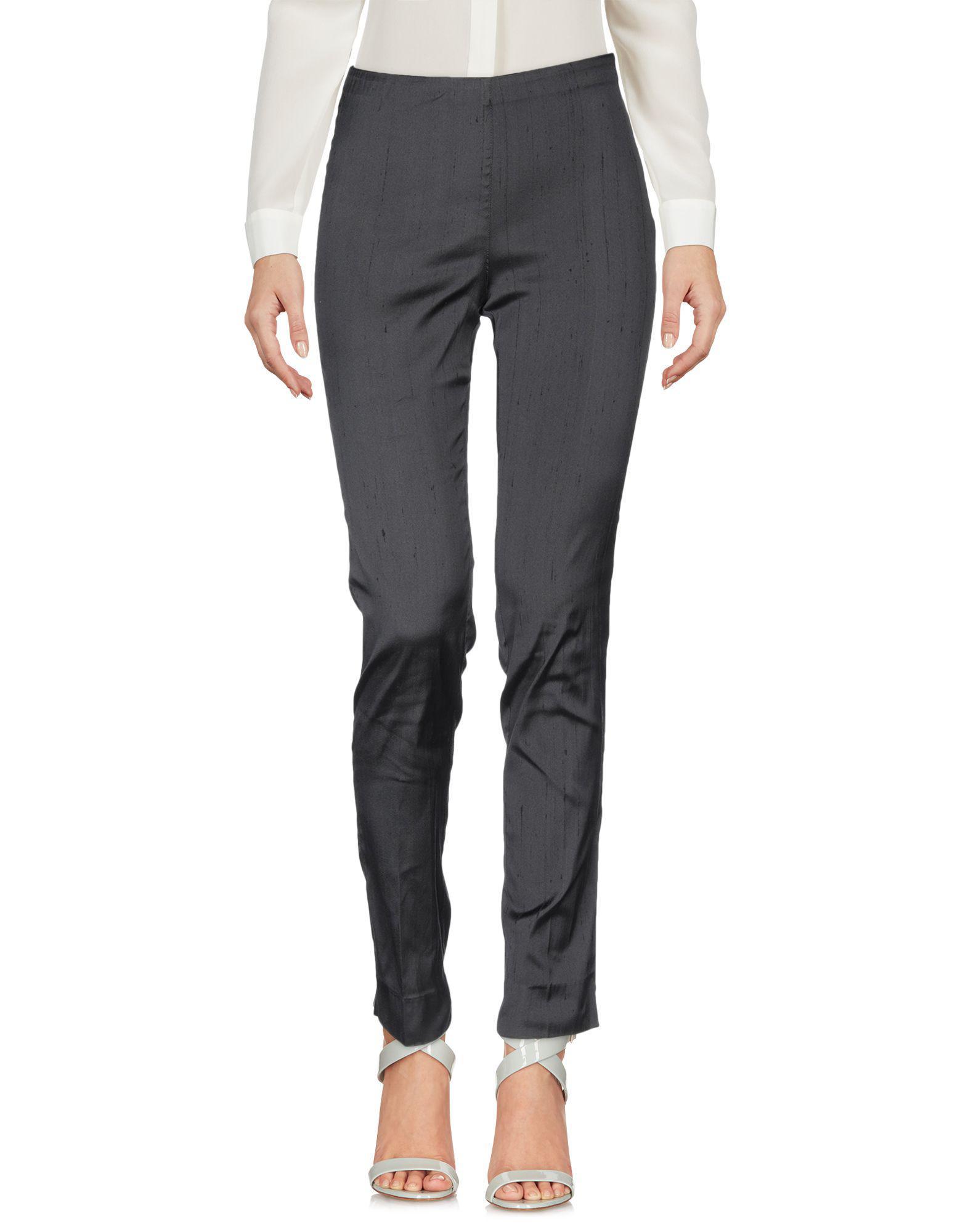 Pantalones P.A.R.O.S.H. de Seda de color Negro