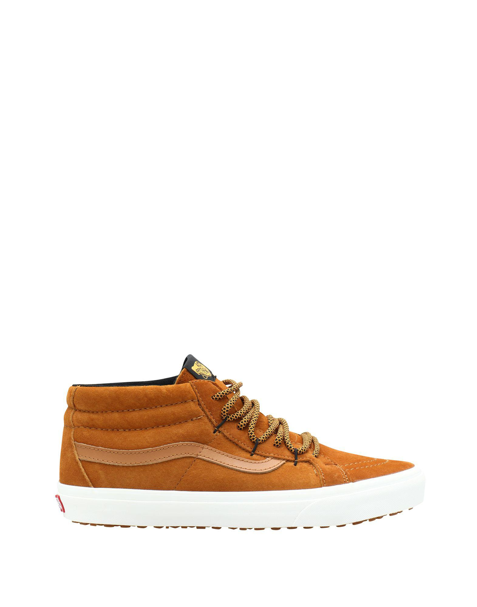 60c9b940cb820d Lyst - Vans High-tops   Sneakers in Brown for Men