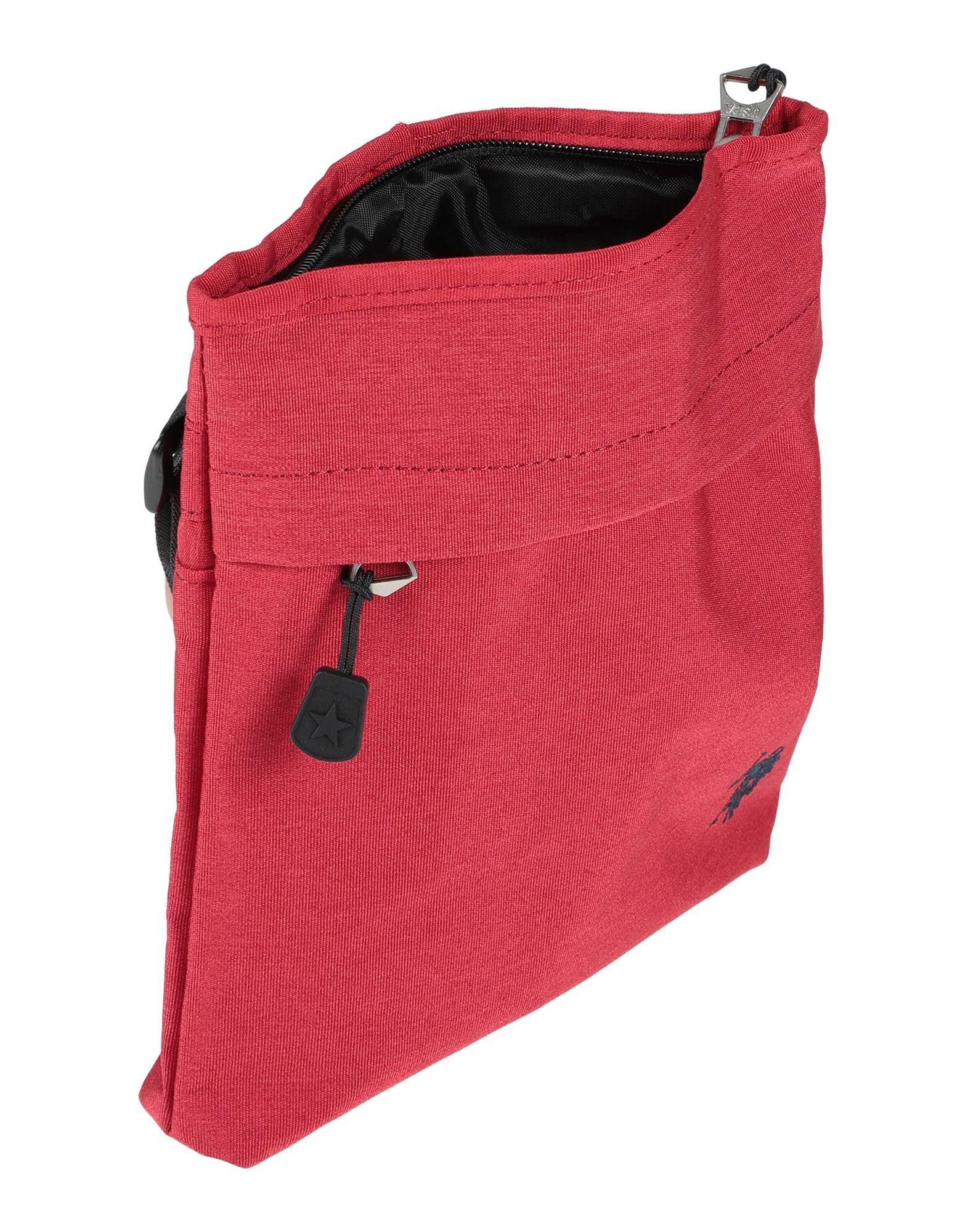 Sac porté épaule Synthétique U.S. POLO ASSN. en coloris Rouge