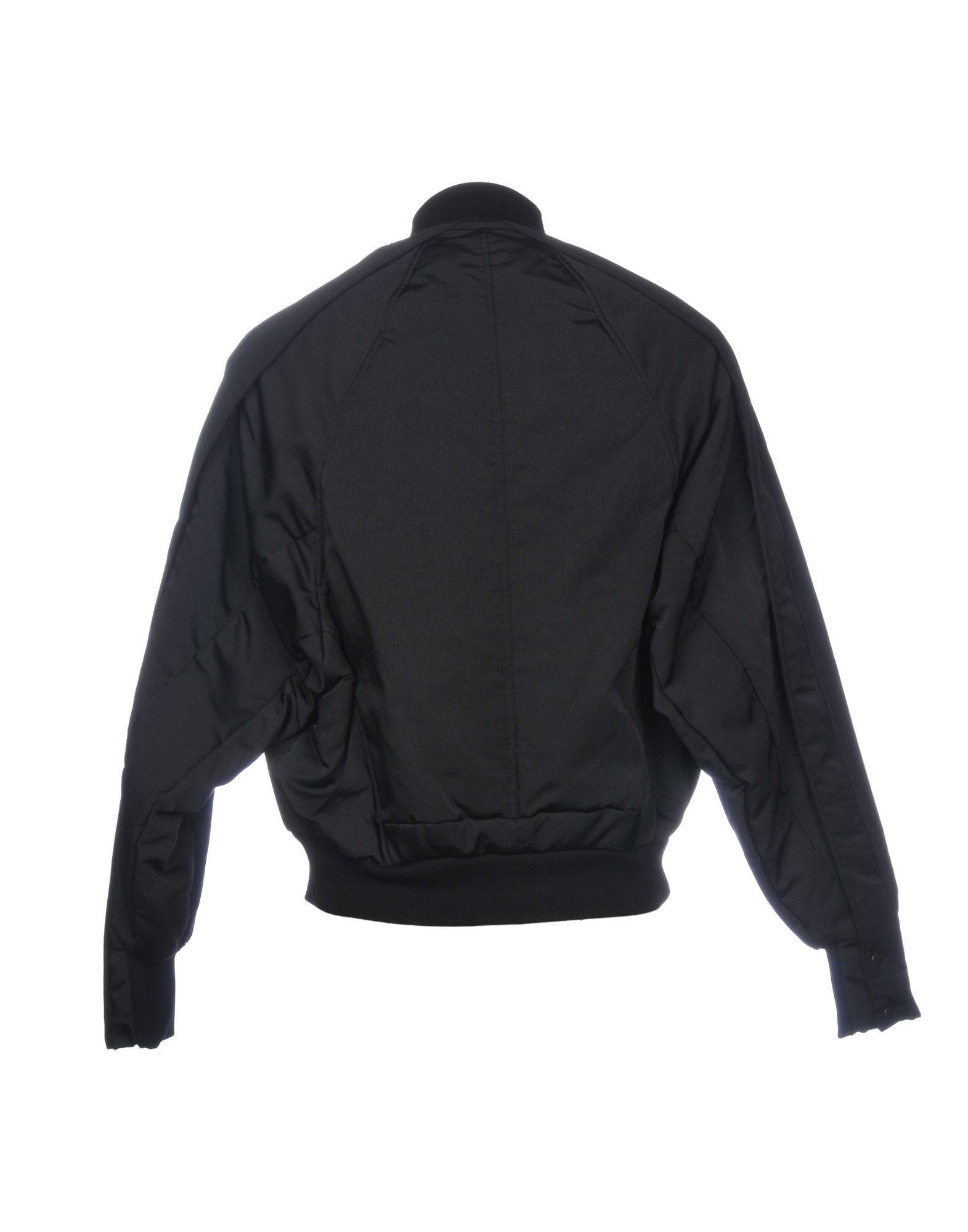 _JULIUS Synthetic Jacket in Black for Men