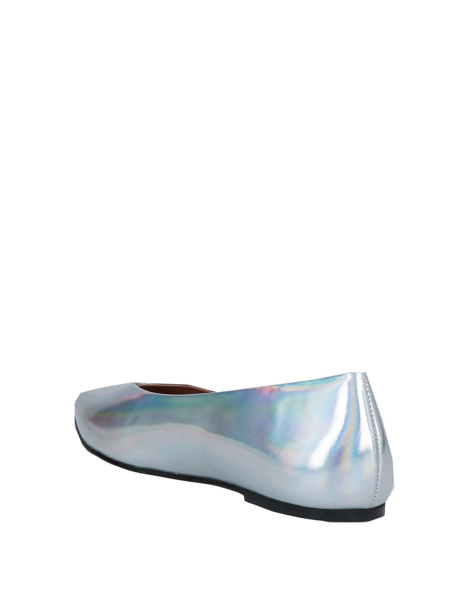 Bailarinas Flattered de Cuero de color Metálico