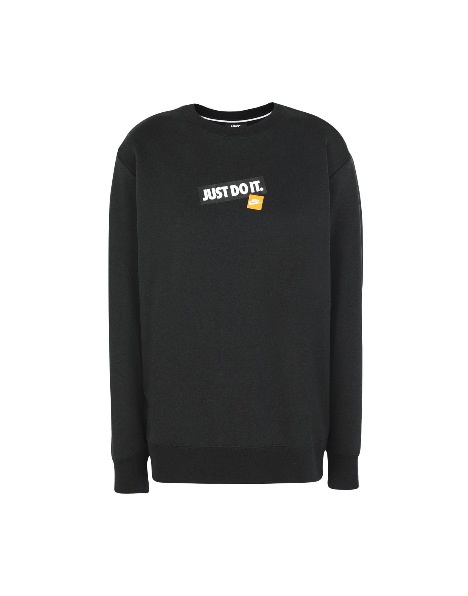 eb25c93d Nike Sweatshirt in Black - Lyst