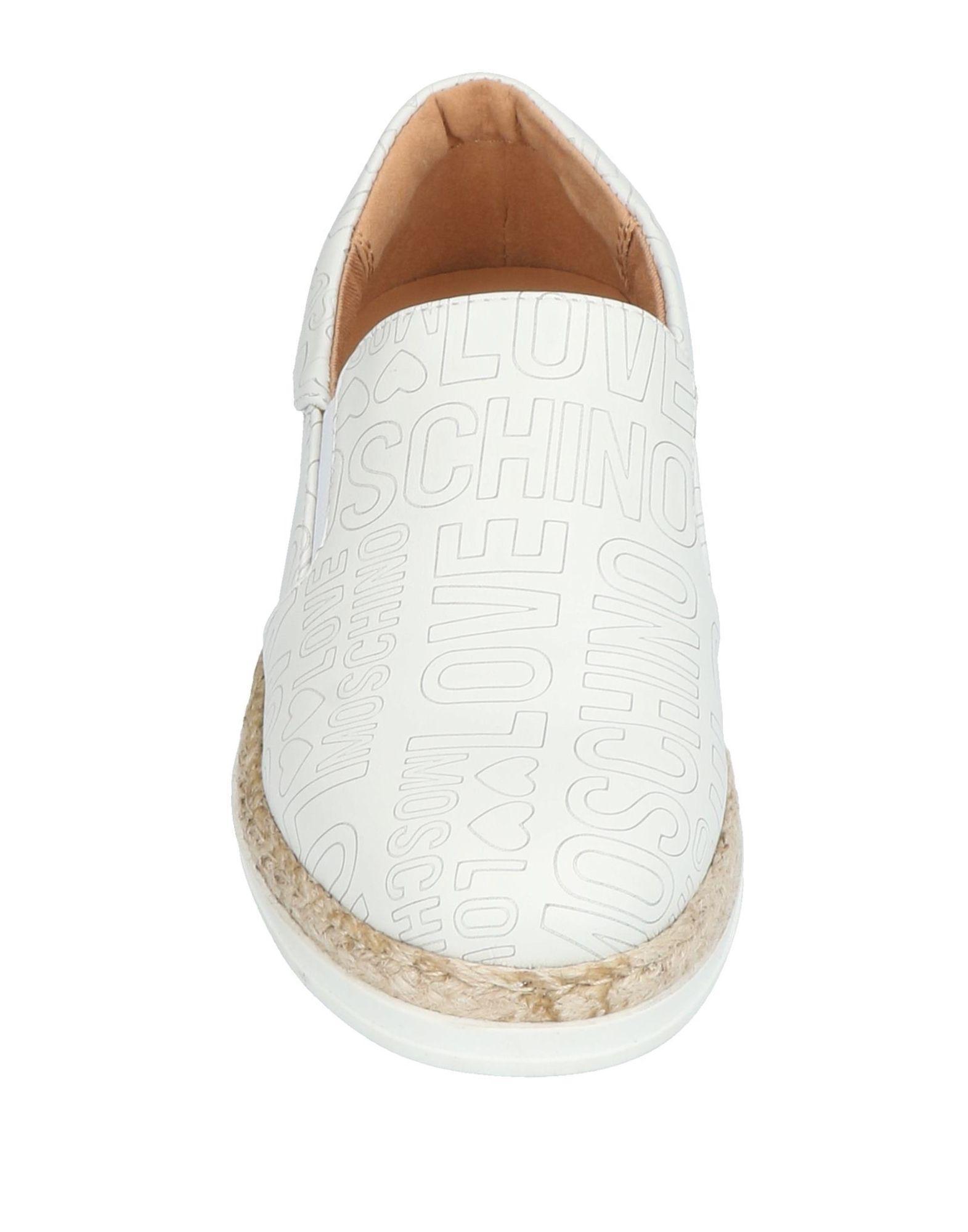 Sneakers & Tennis basses Love Moschino en coloris Blanc gFsq