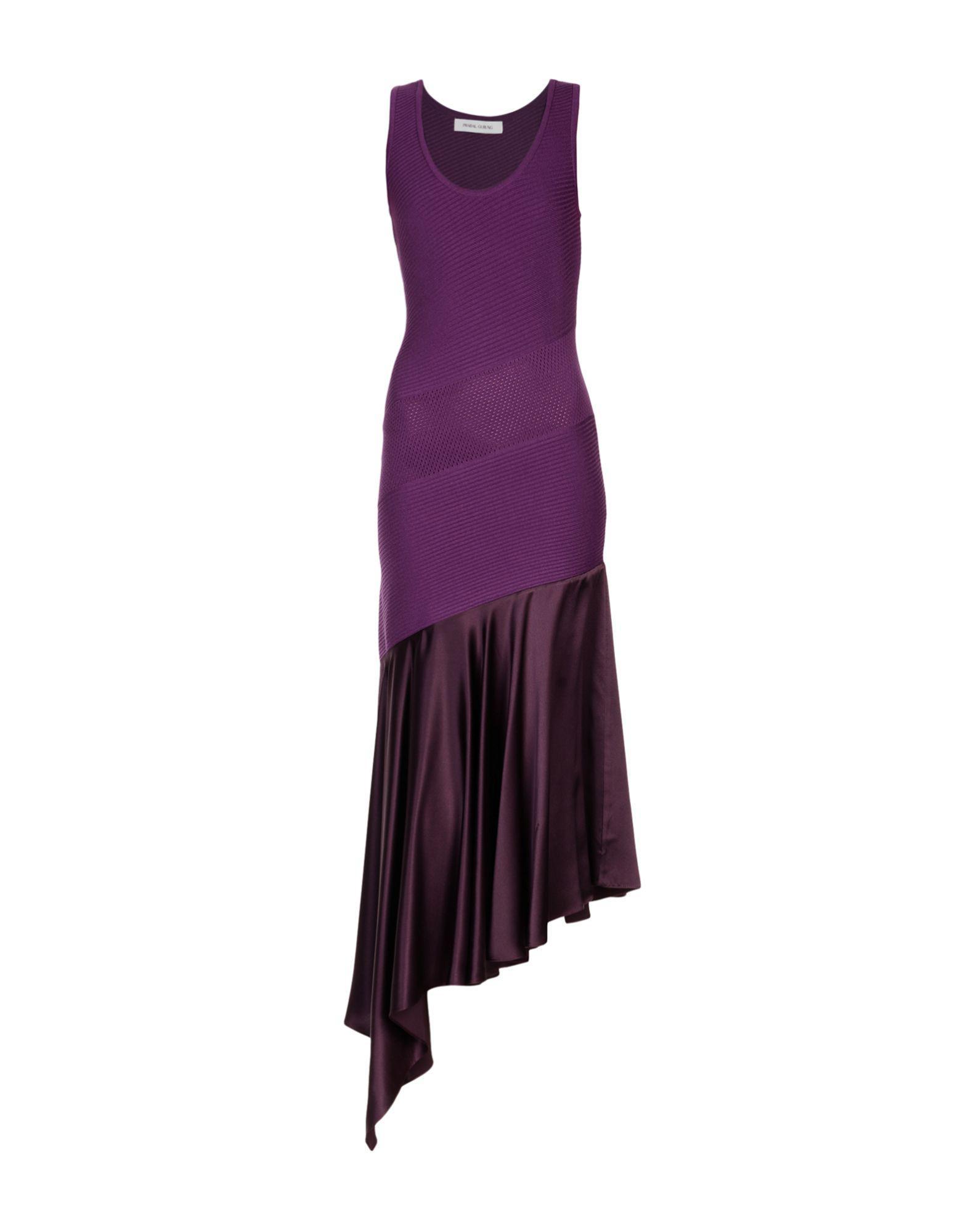 Alicia Tank dress - Pink & Purple Prabal Gurung SgqpuwEdLE