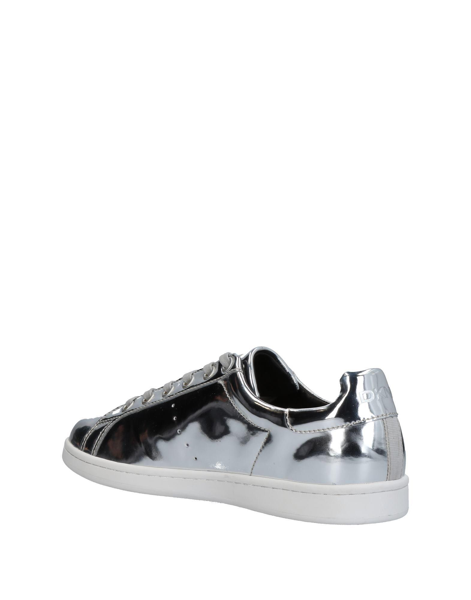 DKNY Low-tops & Sneakers in Silver (Metallic)