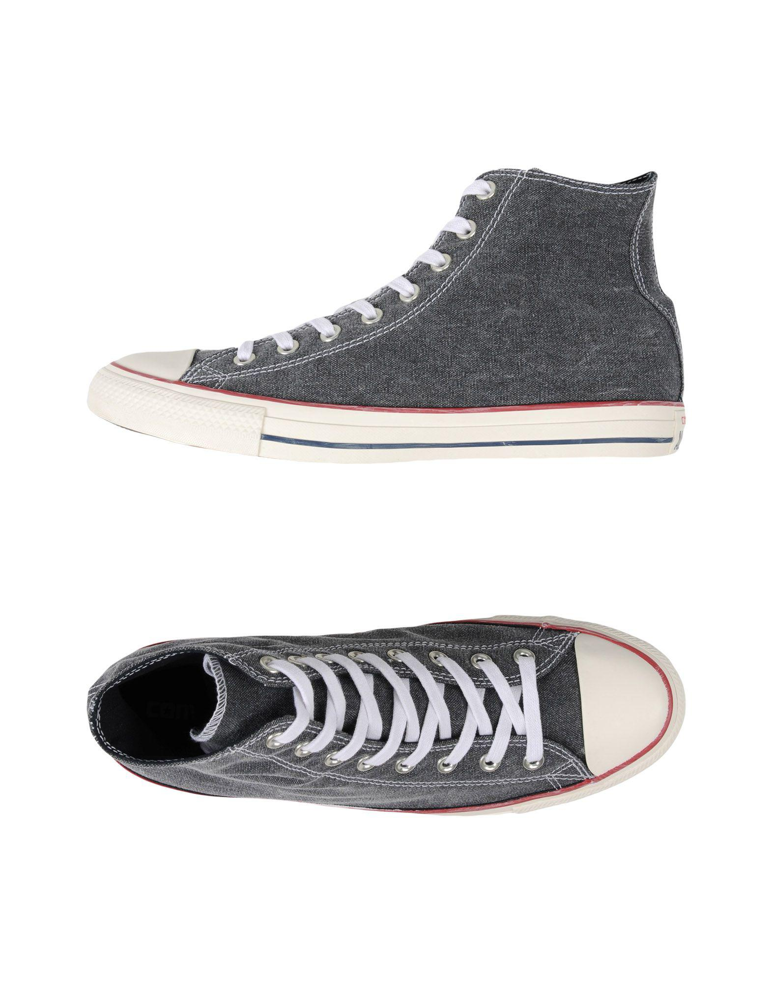 8c2a18aa5e3b Converse High-tops   Sneakers in Gray for Men - Lyst