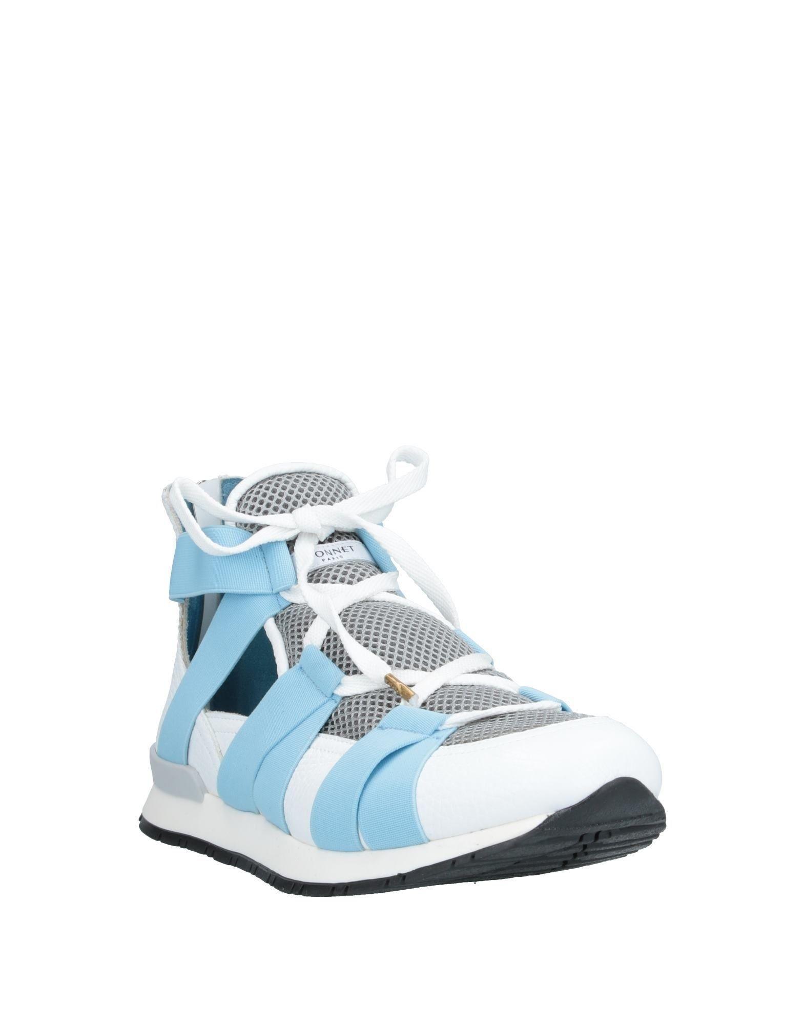 Sneakers abotinadas Vionnet de Neopreno de color Blanco