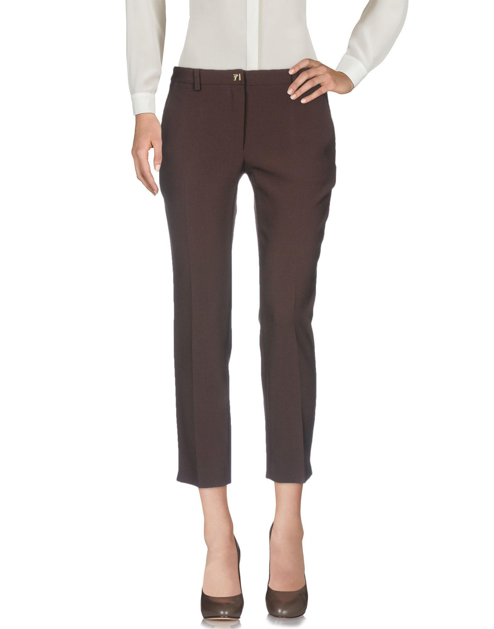 dernière conception styles de mode pas cher pour réduction Pantalon femme de coloris marron