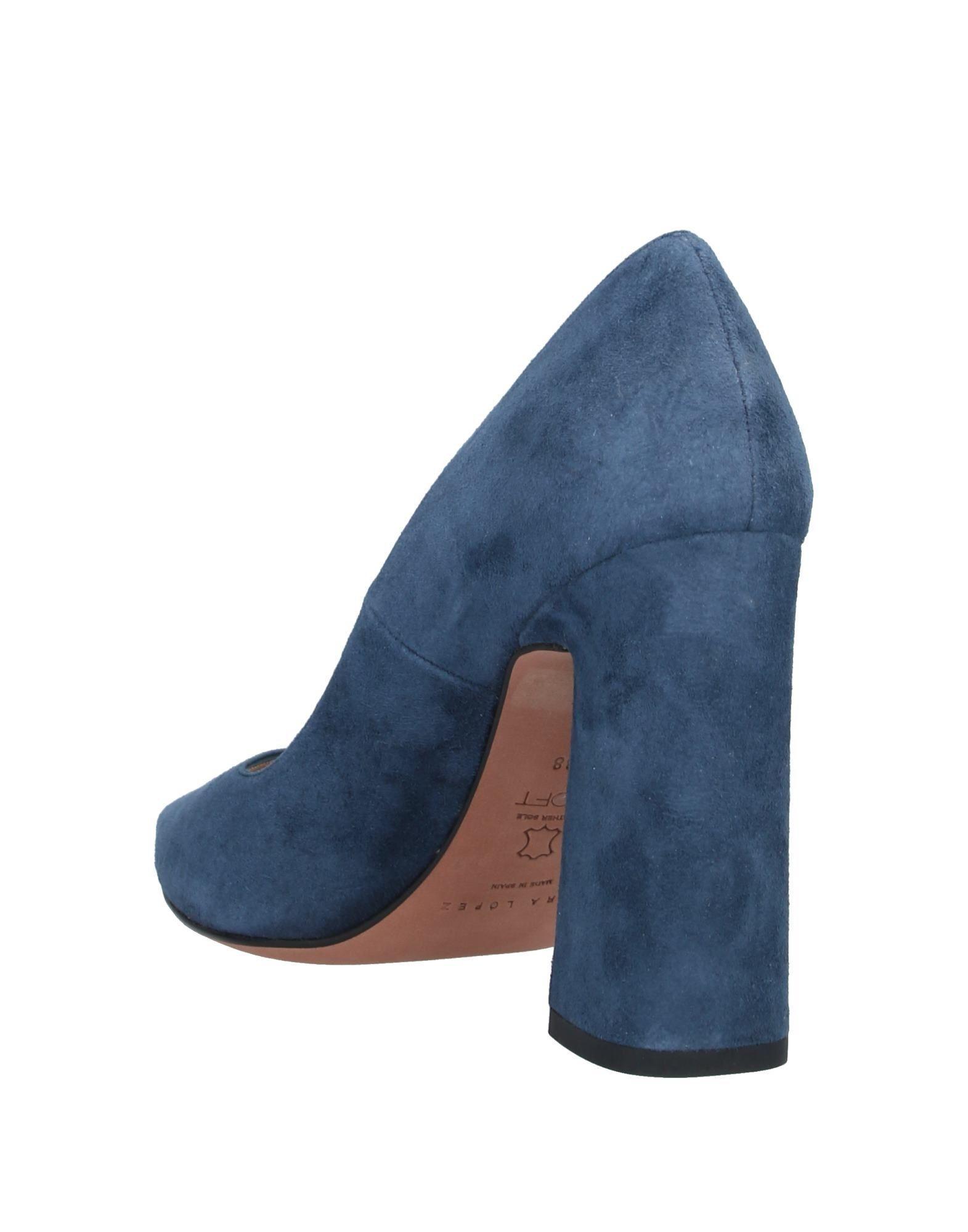 Zapatos de salón Pura López de color Azul