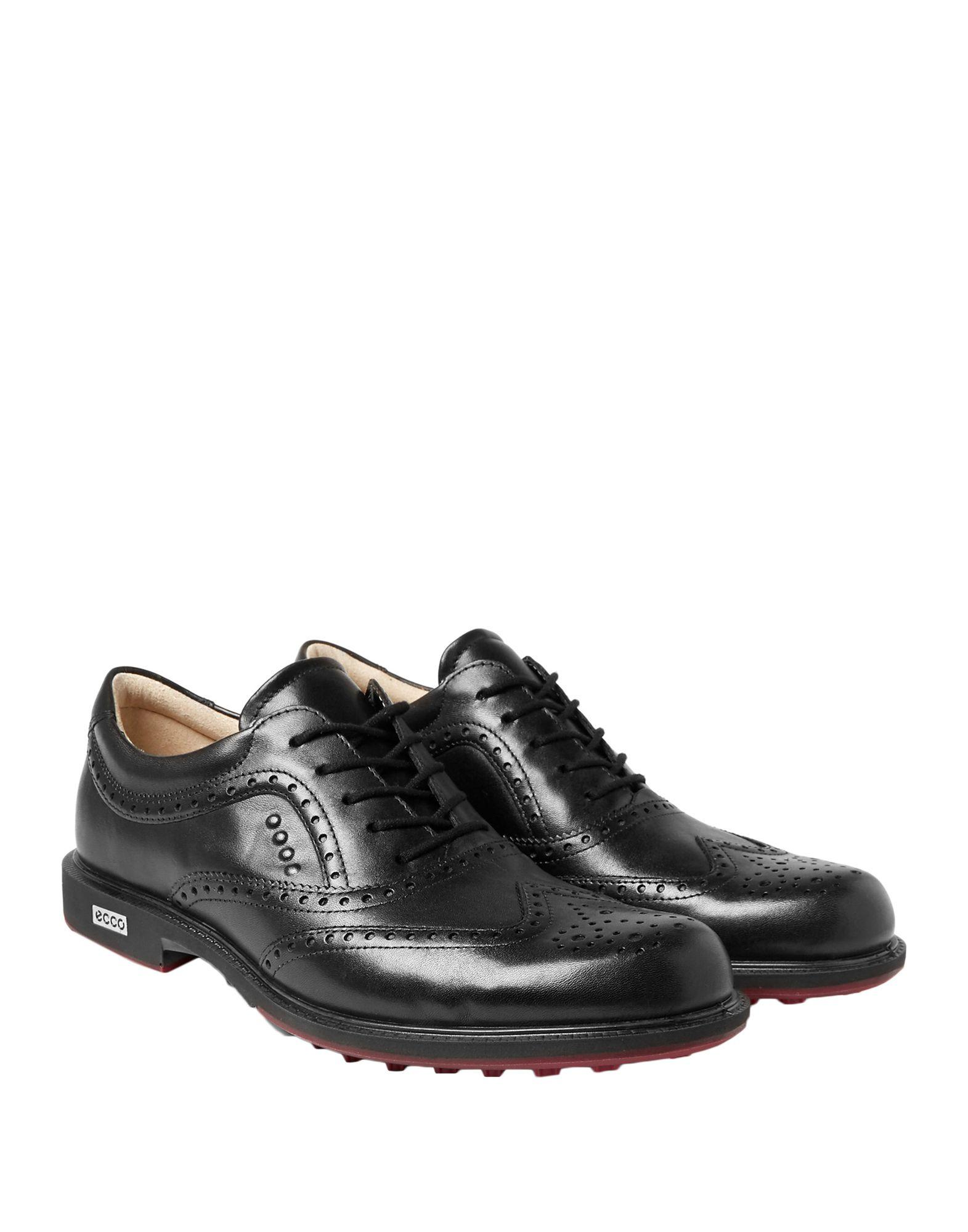 Ecco Leather Lace-up Shoe in Black for