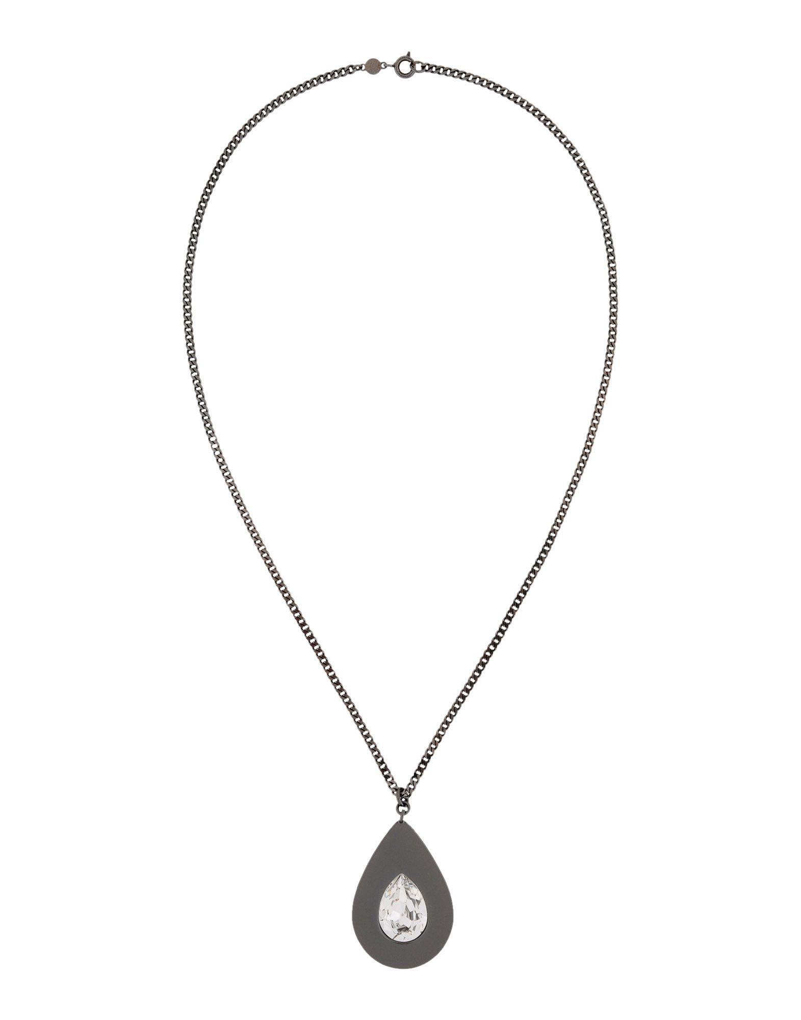Maison Margiela Necklace in Steel Grey (Grey)