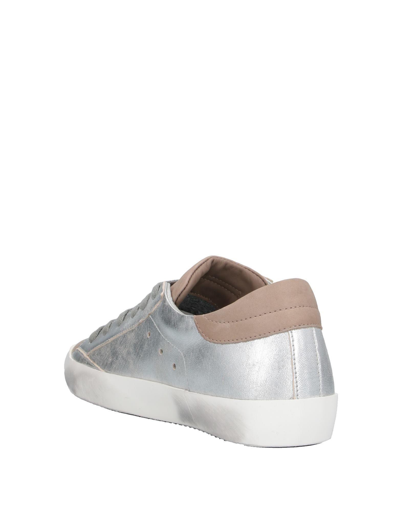 Sneakers & Deportivas Philippe Model de Cuero de color Metálico