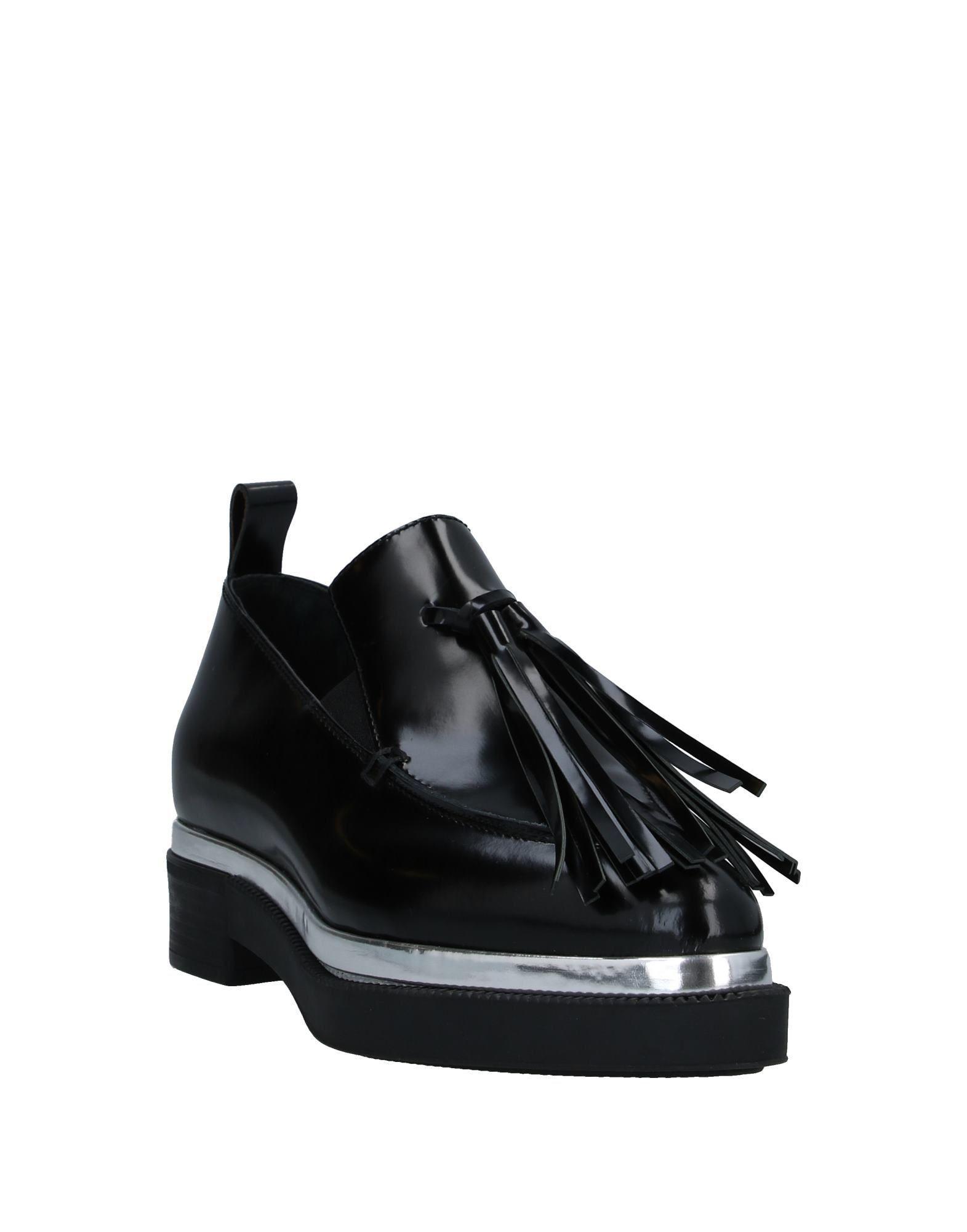 Mocasines Grey Mer de Cuero de color Negro