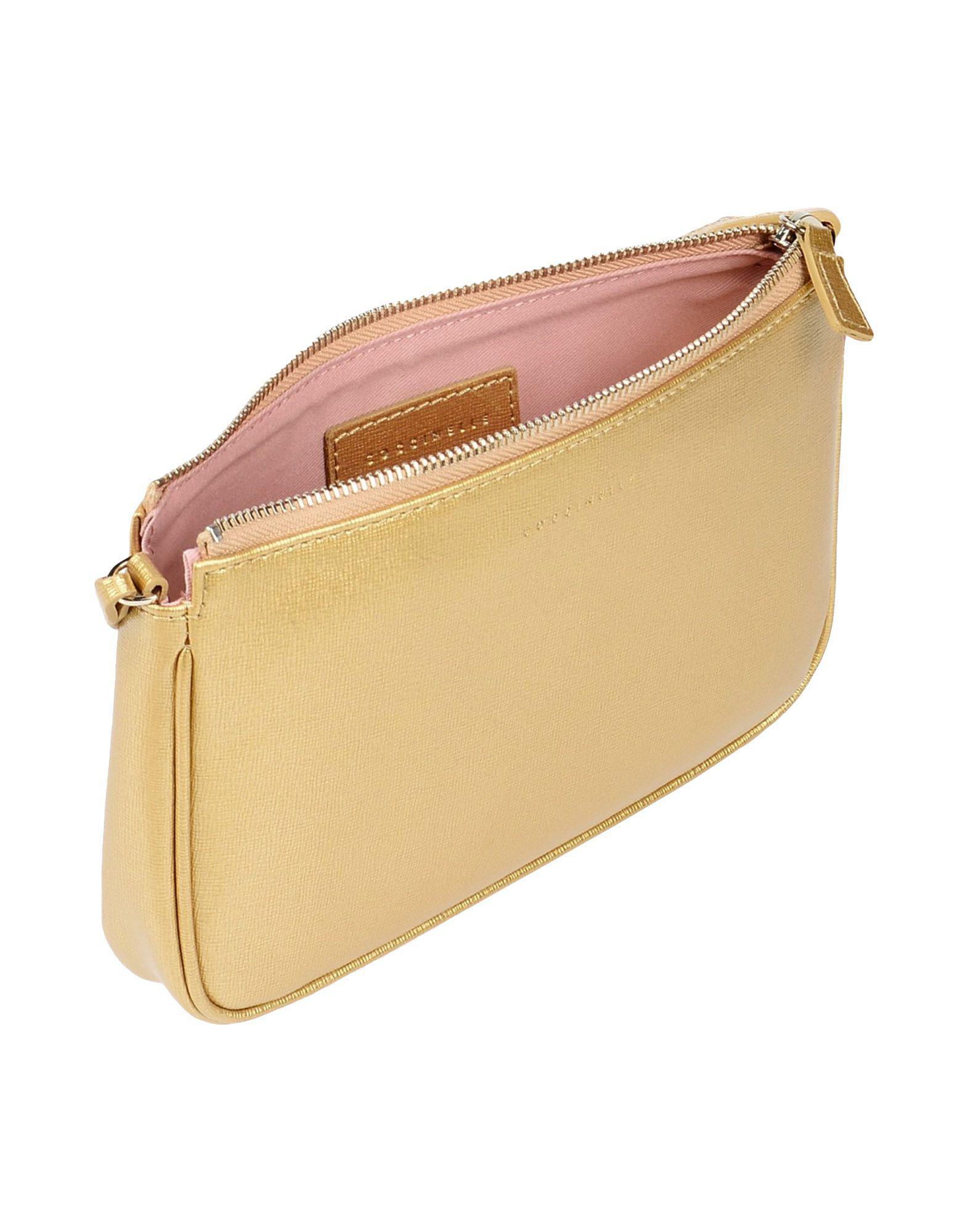 Coccinelle Cross-body Bag in Gold (Metallic)