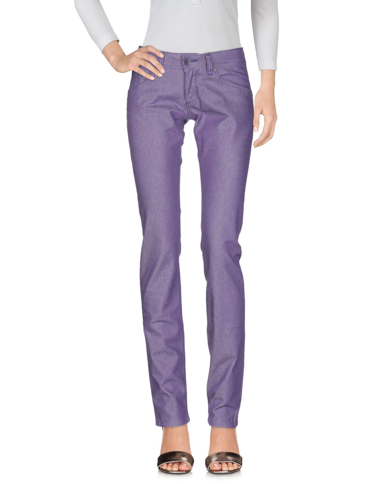 Pantalones vaqueros Brian Dales de Denim de color Morado