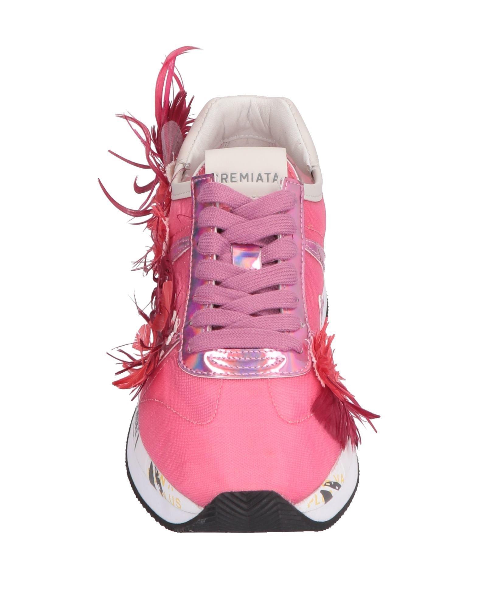 Sneakers & Deportivas Premiata de Cuero de color Rosa