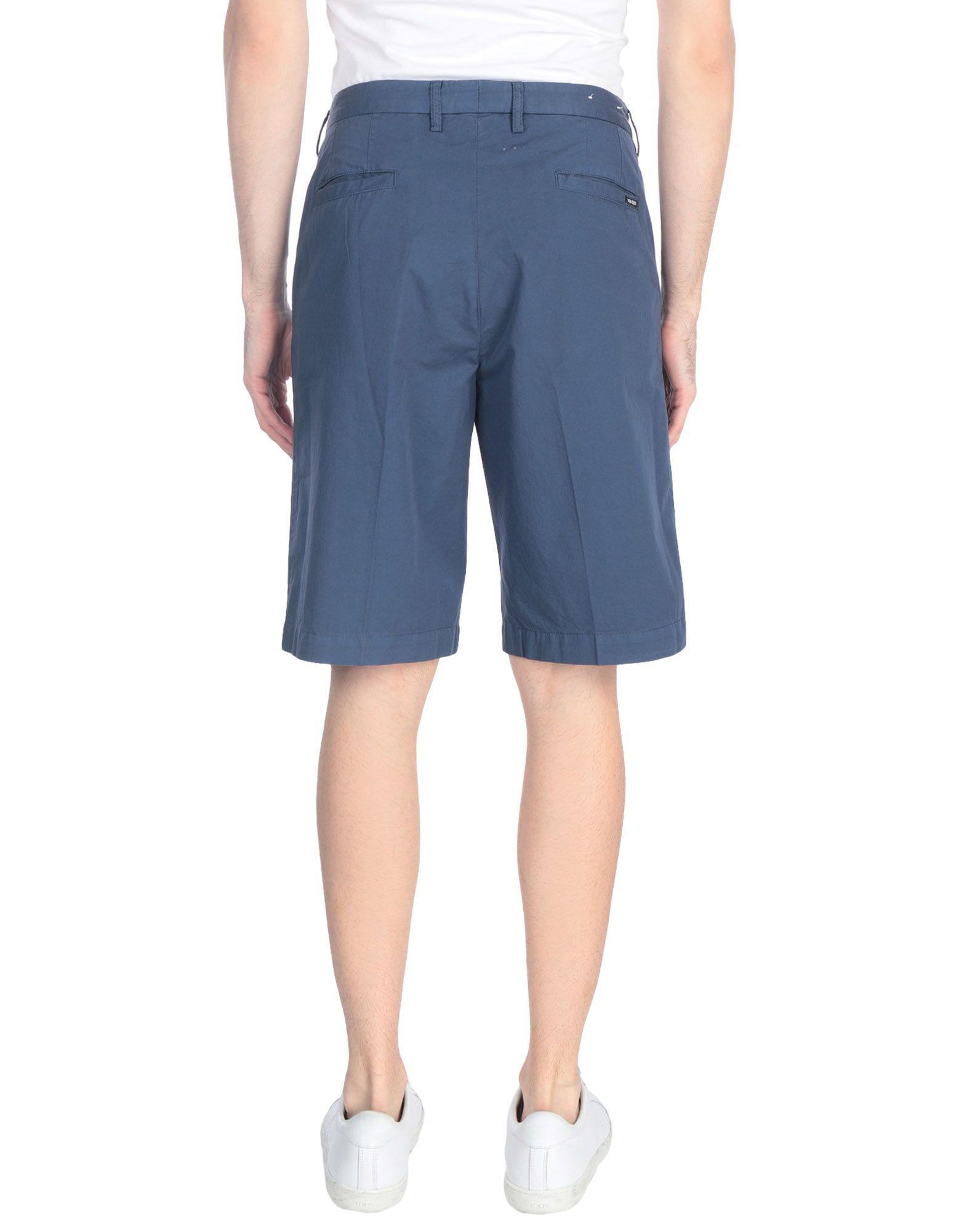 ffe283e167c1 KENZO Bermuda Shorts in Blue for Men - Lyst