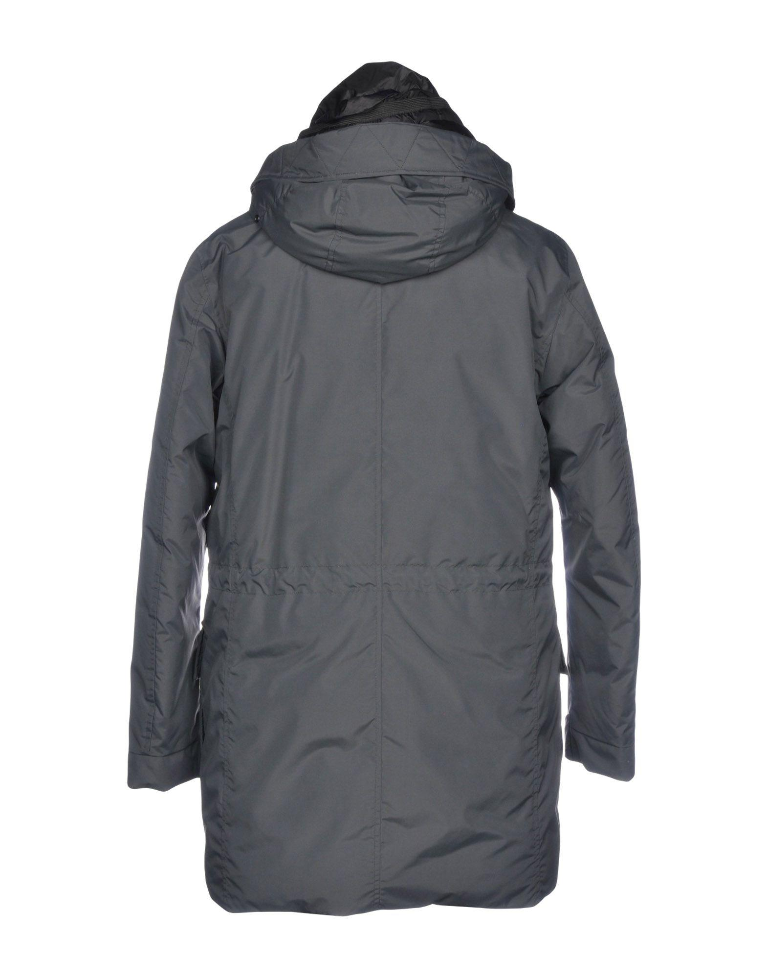 Dekker Goose Down Jacket in Lead (Grey) for Men