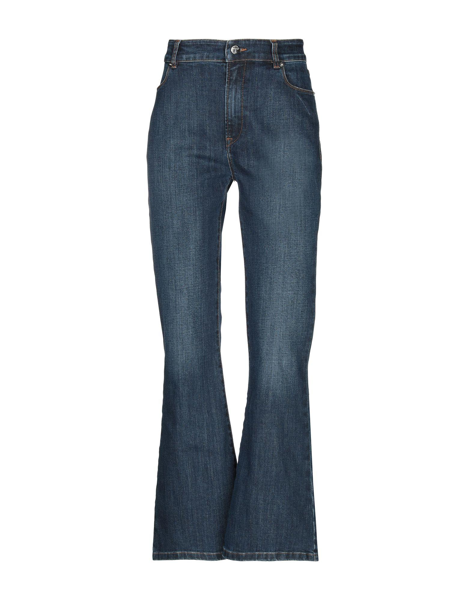 97da96d67e Vivetta Denim Trousers in Blue - Lyst